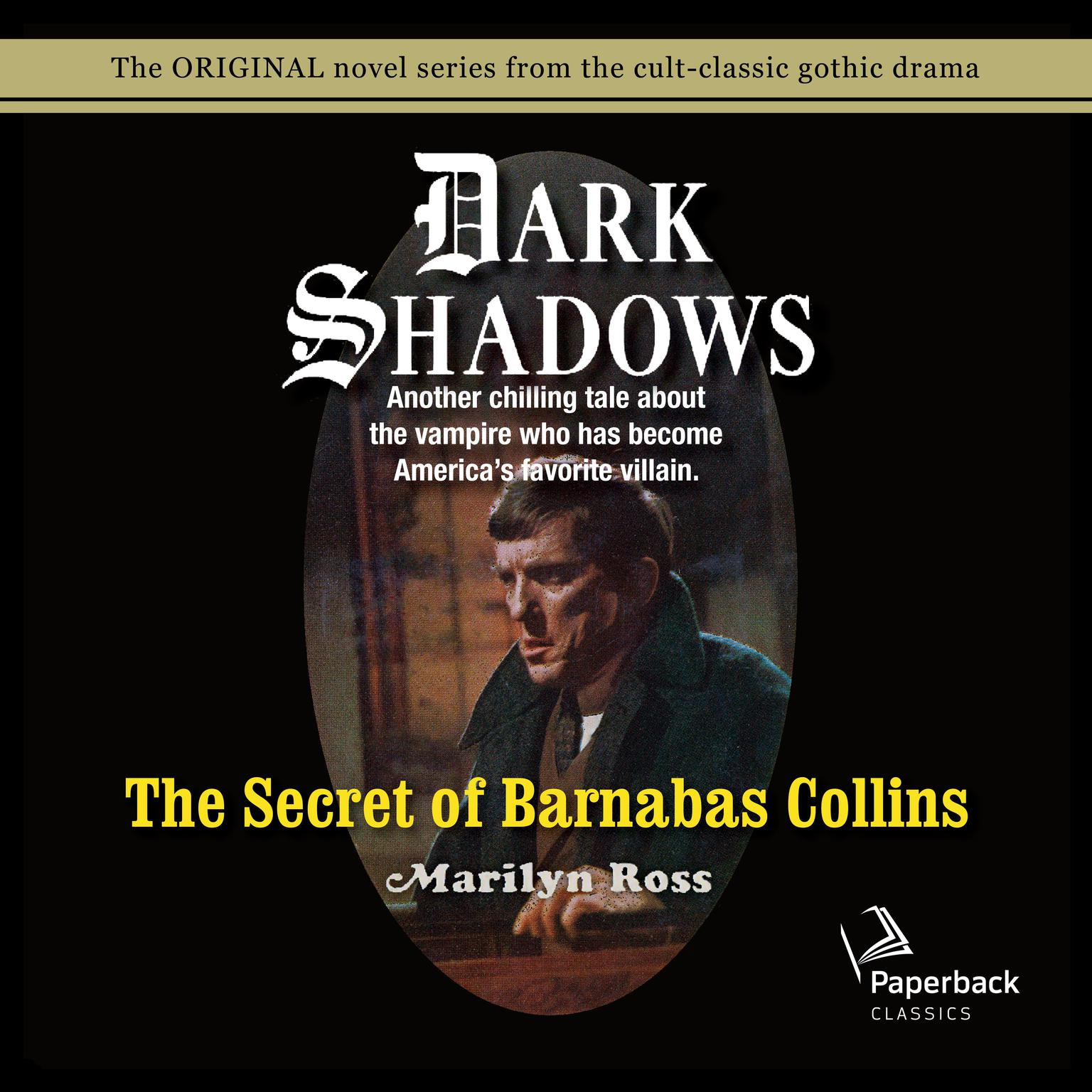 Printable The Secret of Barnabas Collins Audiobook Cover Art