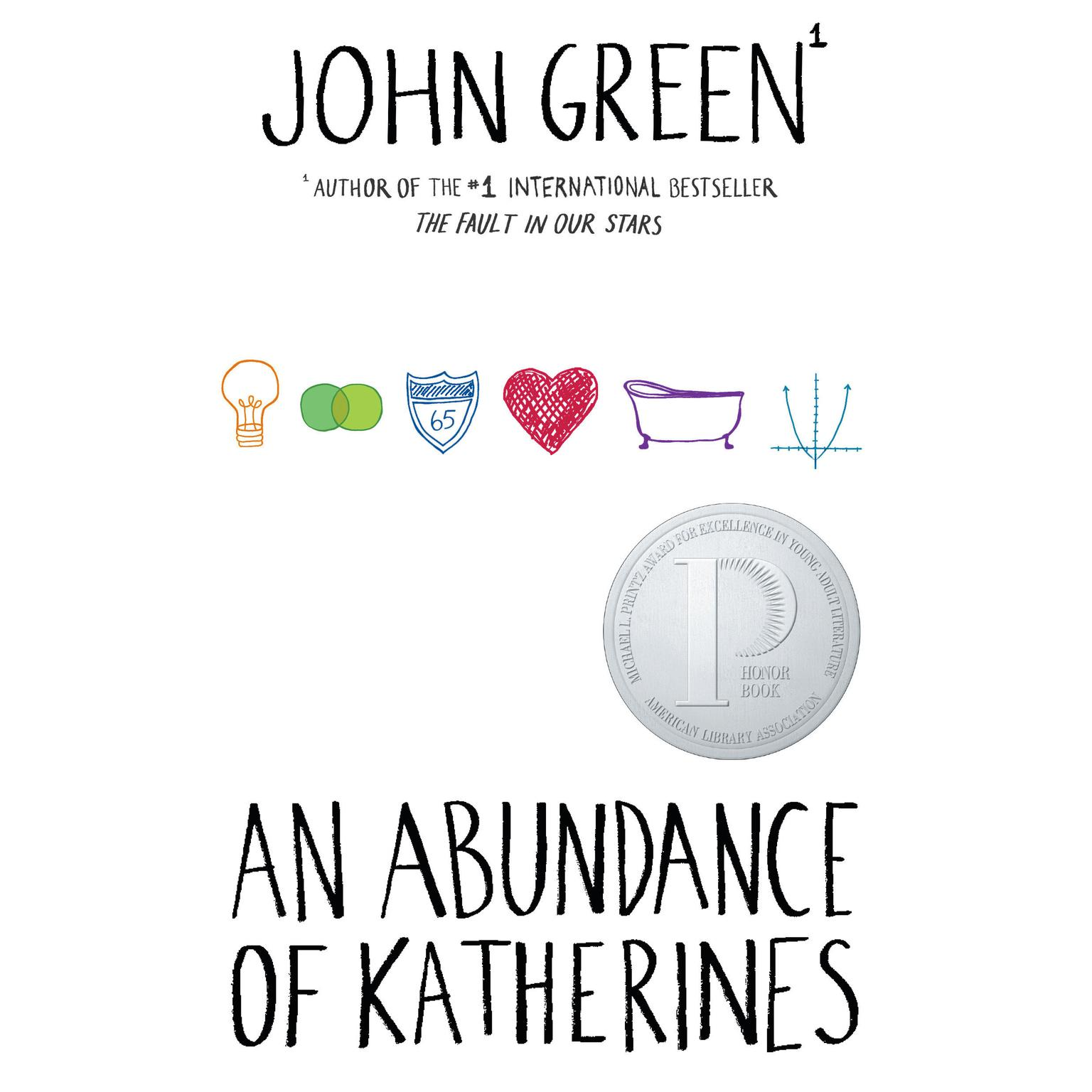 An Abundance of Katherines Audiobook, by John Green