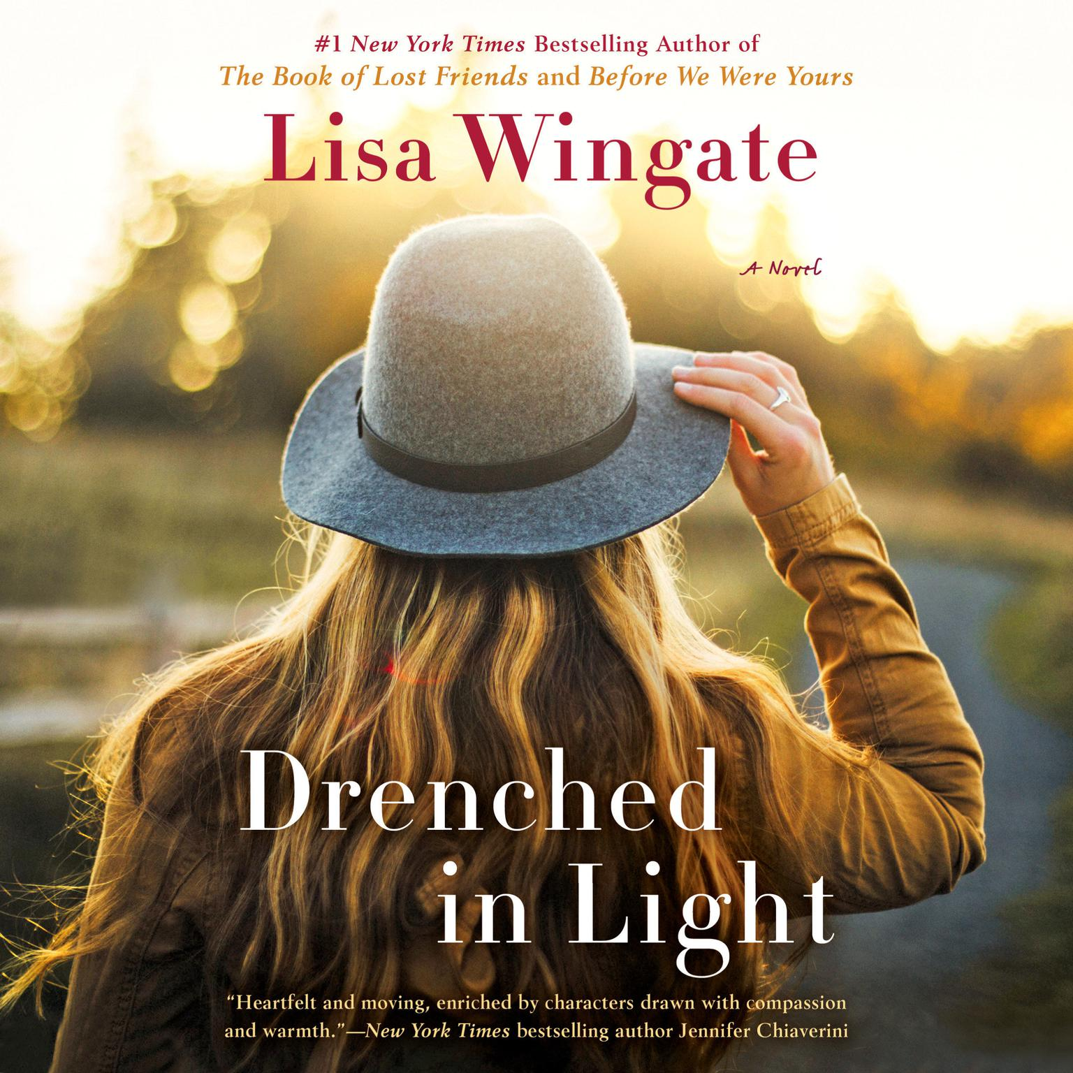 Printable Drenched in Light Audiobook Cover Art