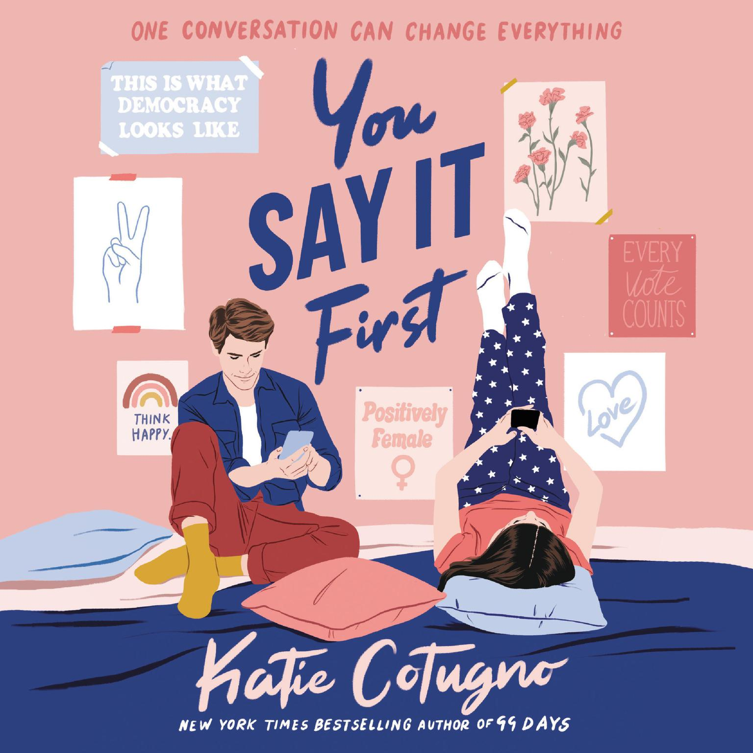 Printable You Say It First Audiobook Cover Art
