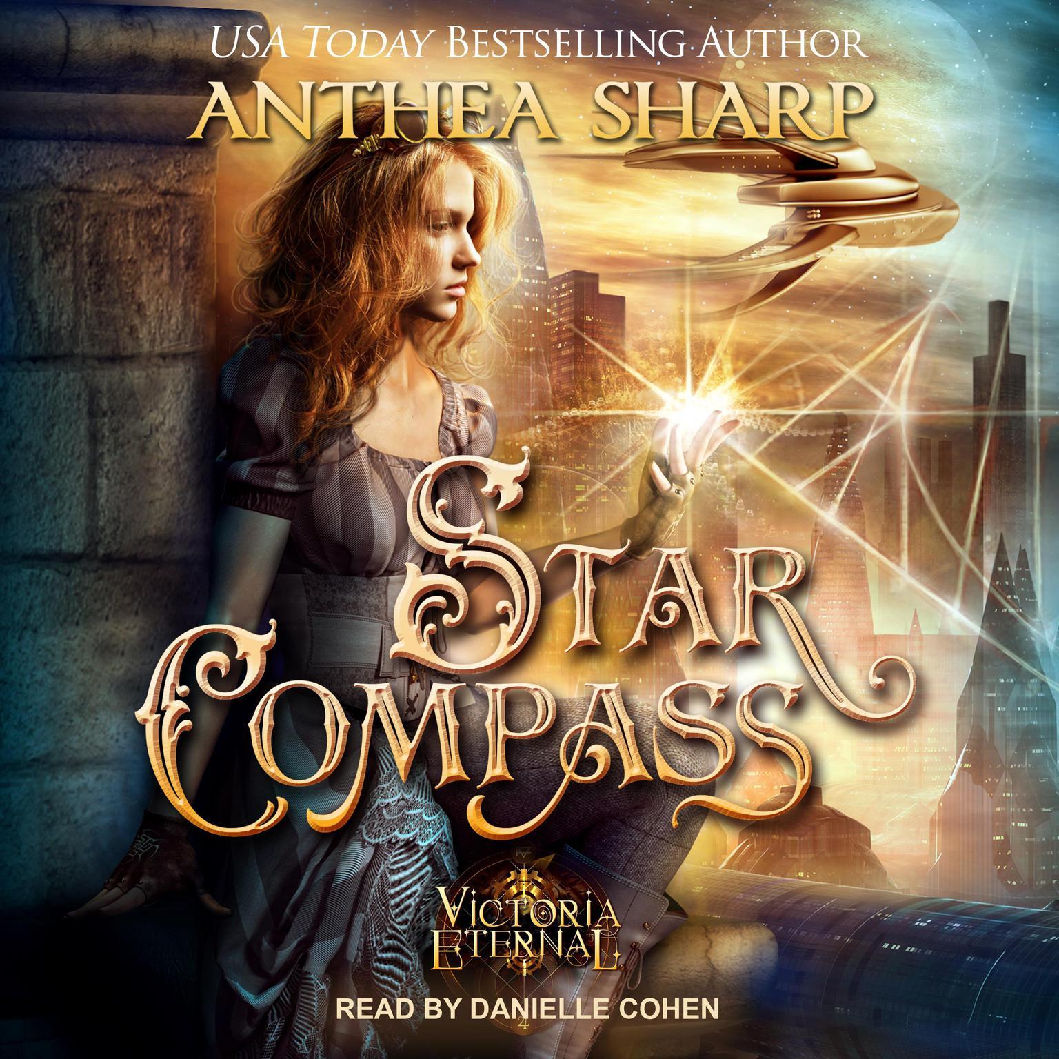 Printable Star Compass Audiobook Cover Art