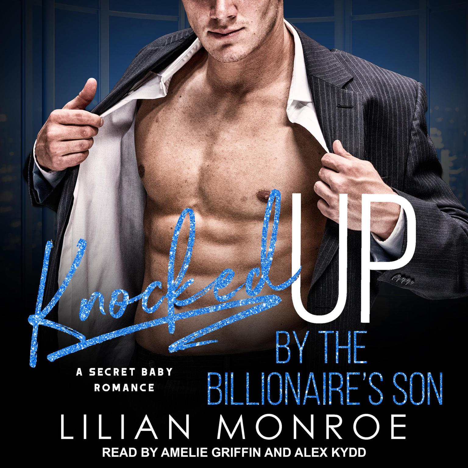 Printable Knocked Up by the Billionaire's Son Audiobook Cover Art