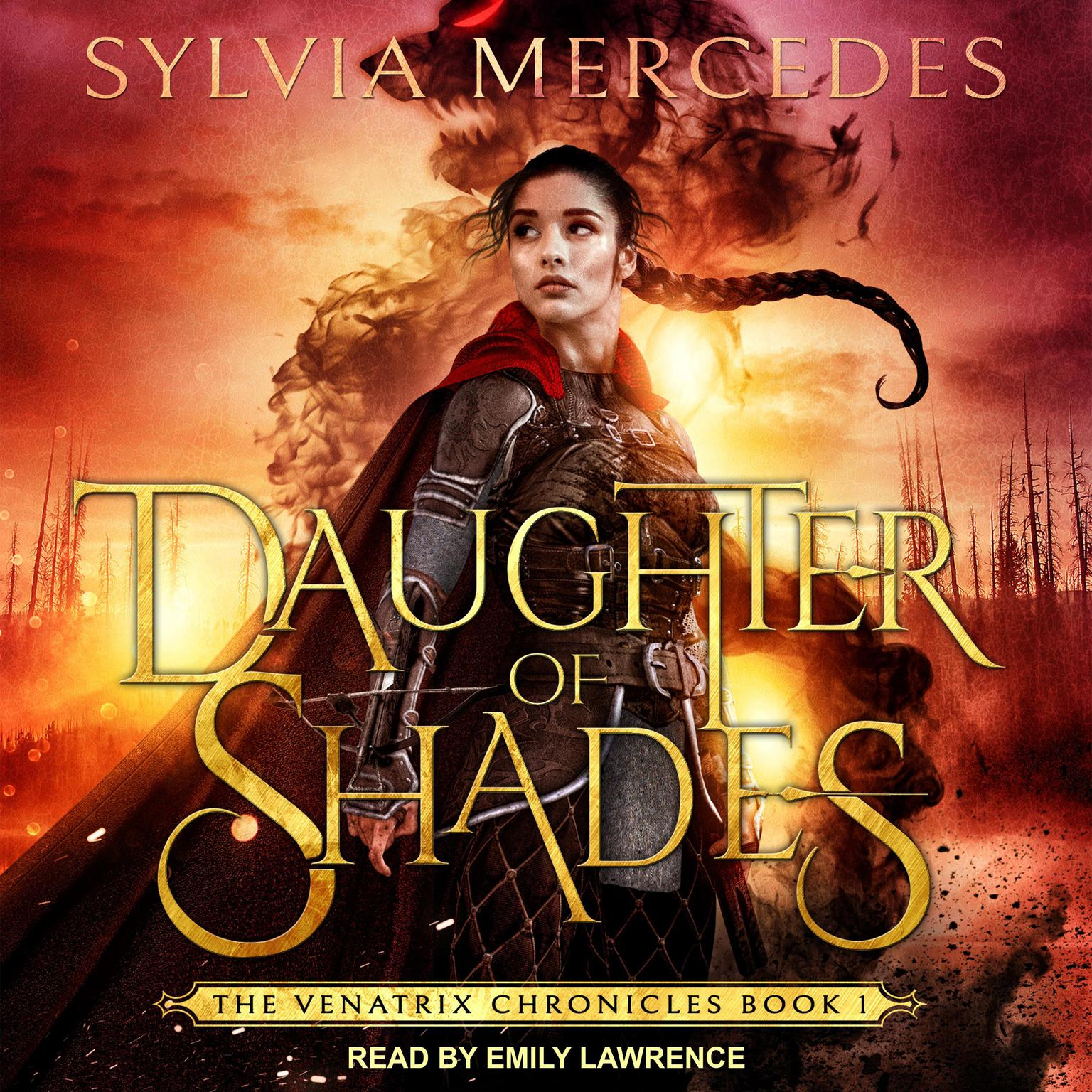 Printable Daughter of Shades Audiobook Cover Art