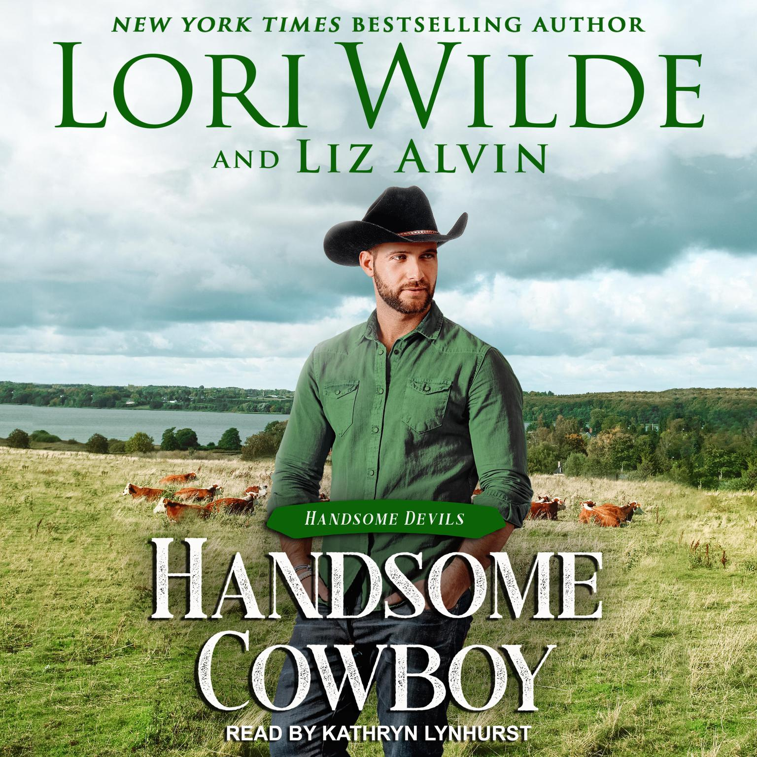 Printable Handsome Cowboy Audiobook Cover Art