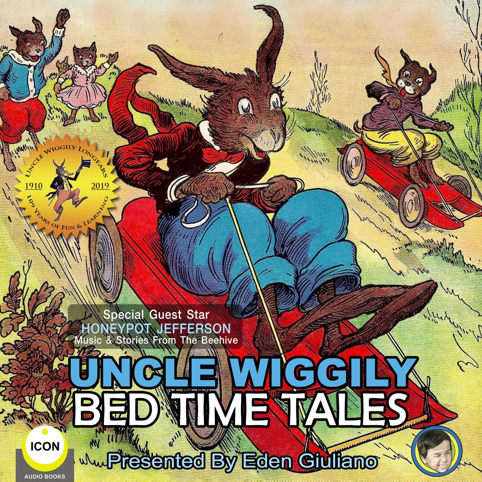 Printable Uncle Wiggily Bed Time Tales Audiobook Cover Art