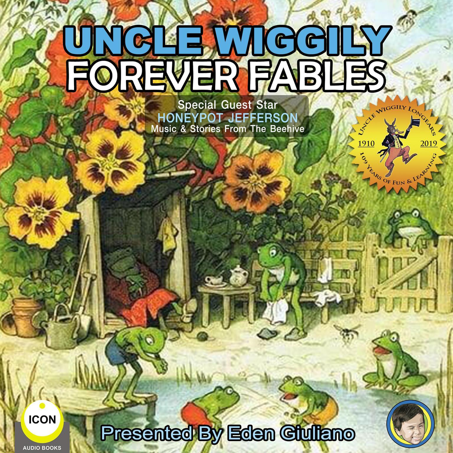 Printable Uncle Wiggily Forever Fables Audiobook Cover Art