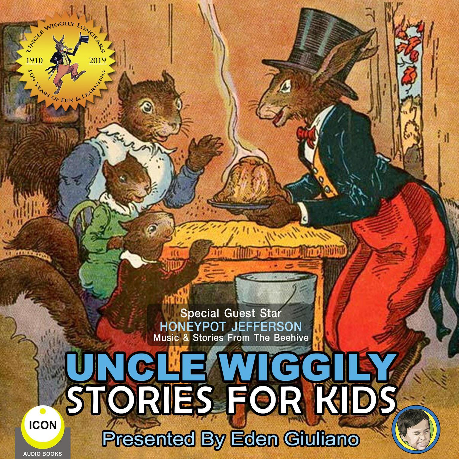 Printable Uncle Wiggily Stories For Kids Audiobook Cover Art