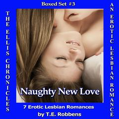 Naughty New Love: An Erotic Lesbian Romance - Boxed Set #3 Audiobook, by T.E. Robbens