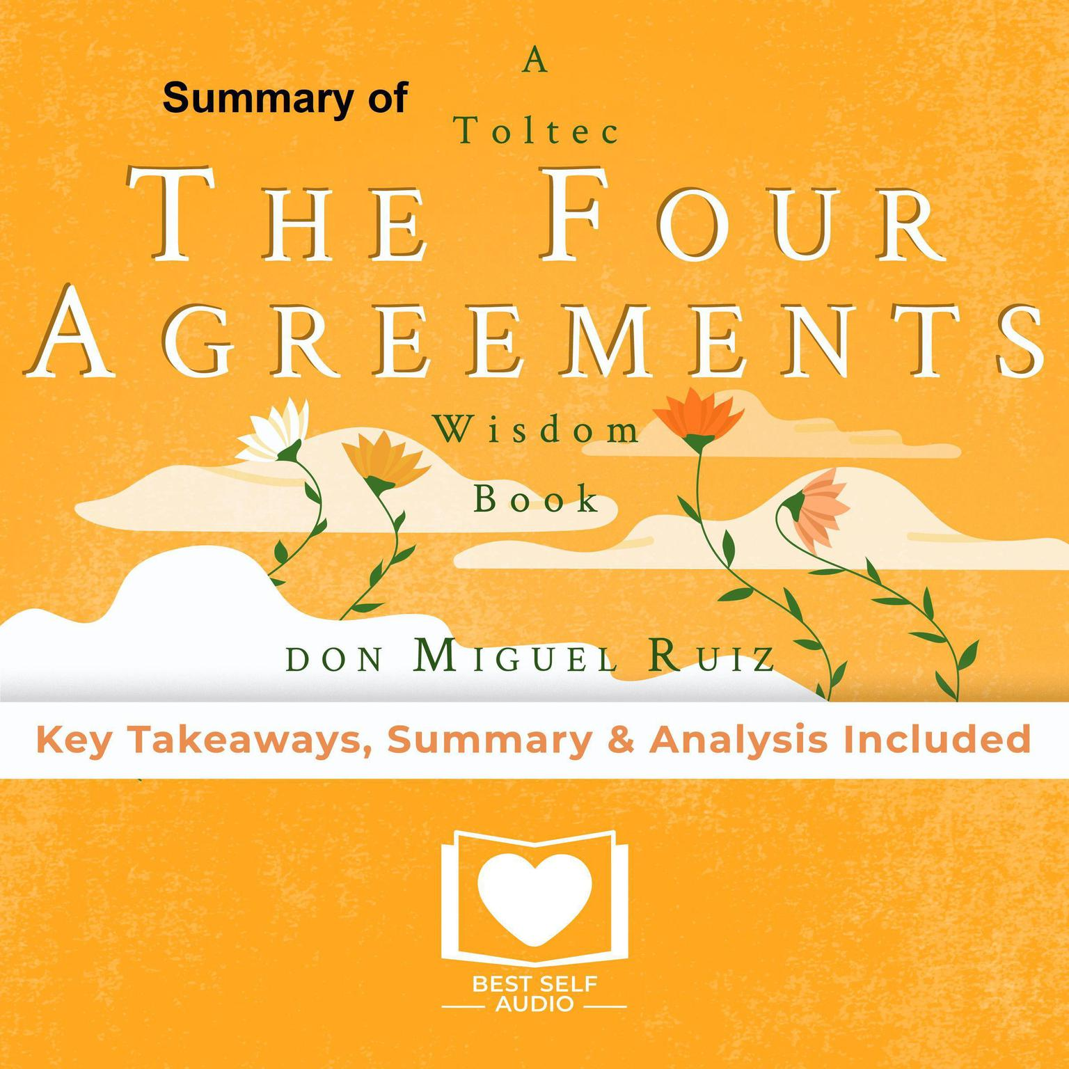Printable The Four Agreements by Don Miguel Ruiz Audiobook Cover Art