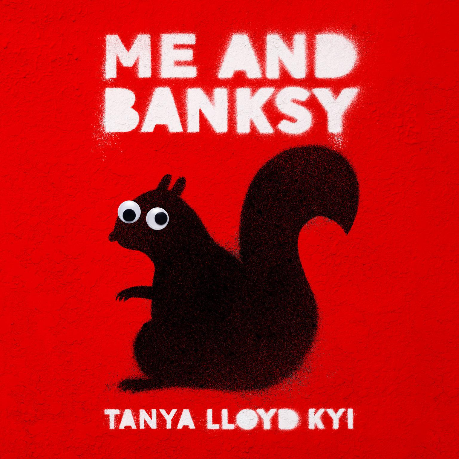 Printable Me and Banksy Audiobook Cover Art