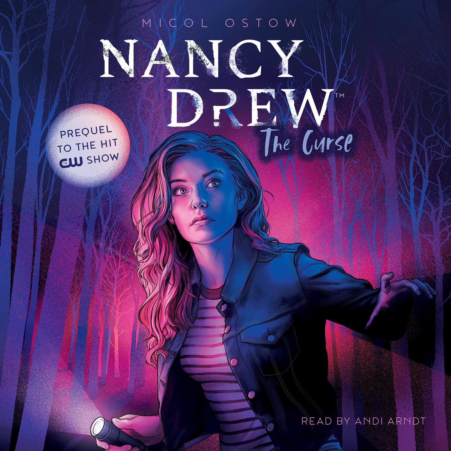 Printable Nancy Drew: The Curse Audiobook Cover Art
