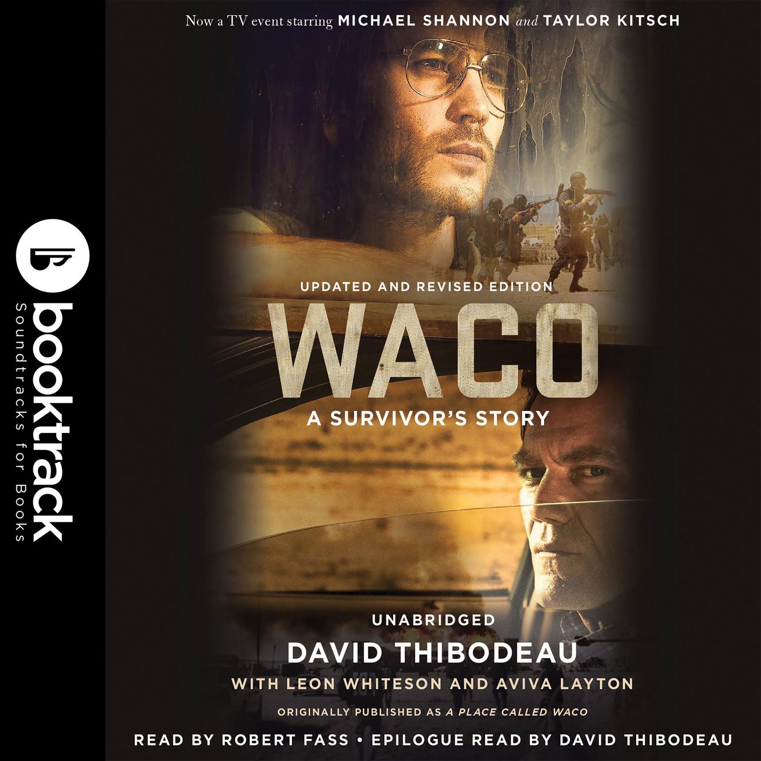 Printable Waco: A Survivor's Story Audiobook Cover Art