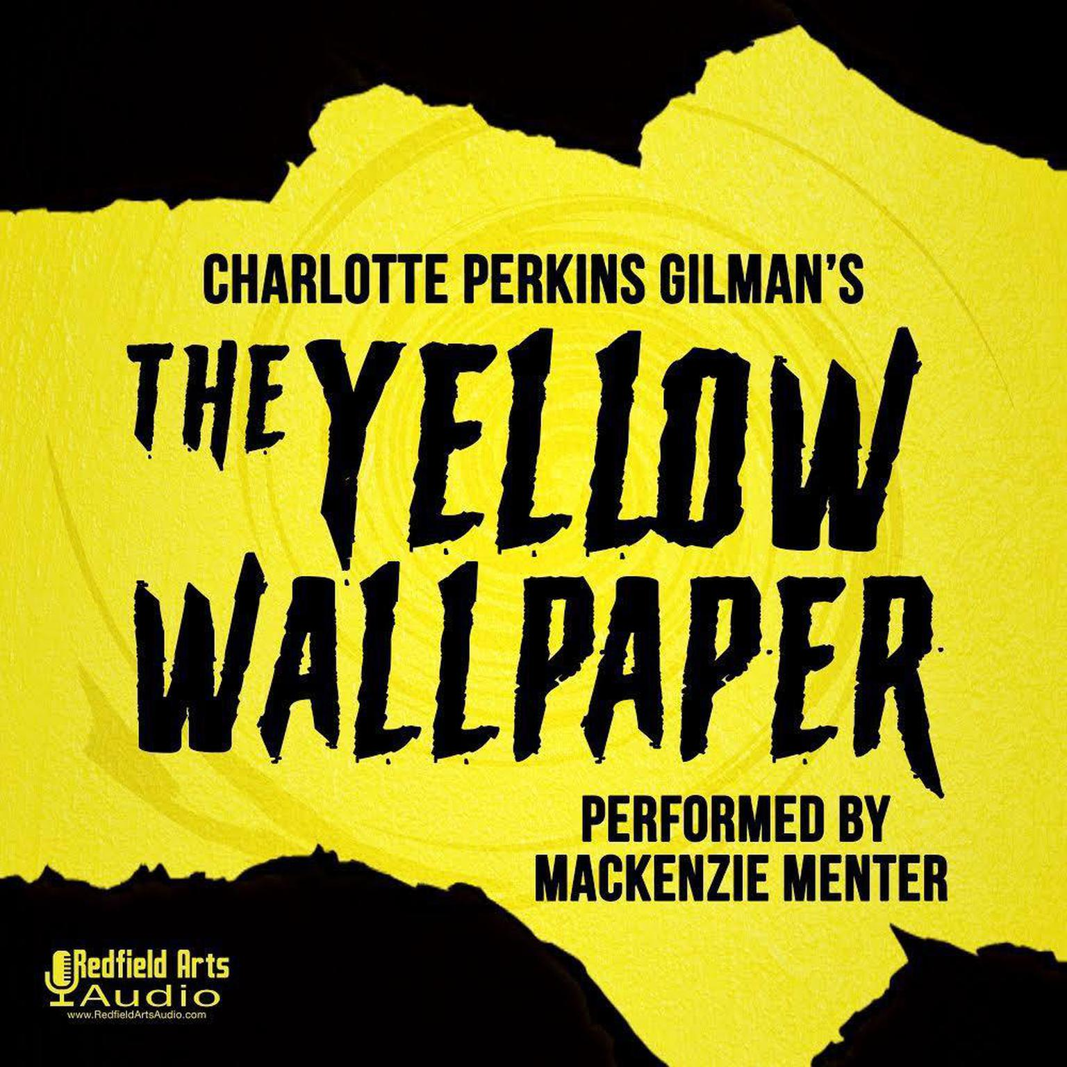 Printable Charlotte Perkins Gilman's The Yellow Wallpaper Audiobook Cover Art