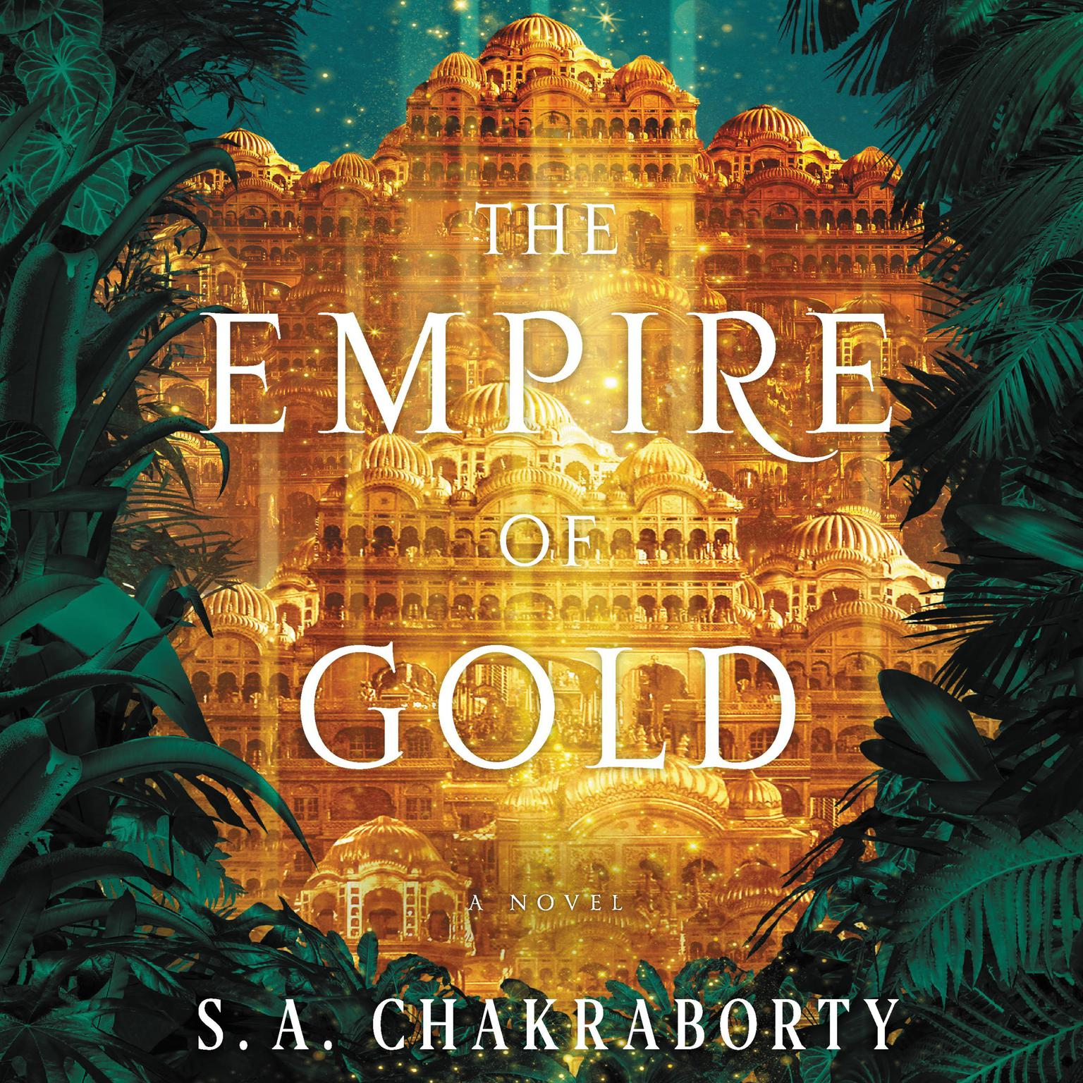 Printable The Empire of Gold: A Novel Audiobook Cover Art