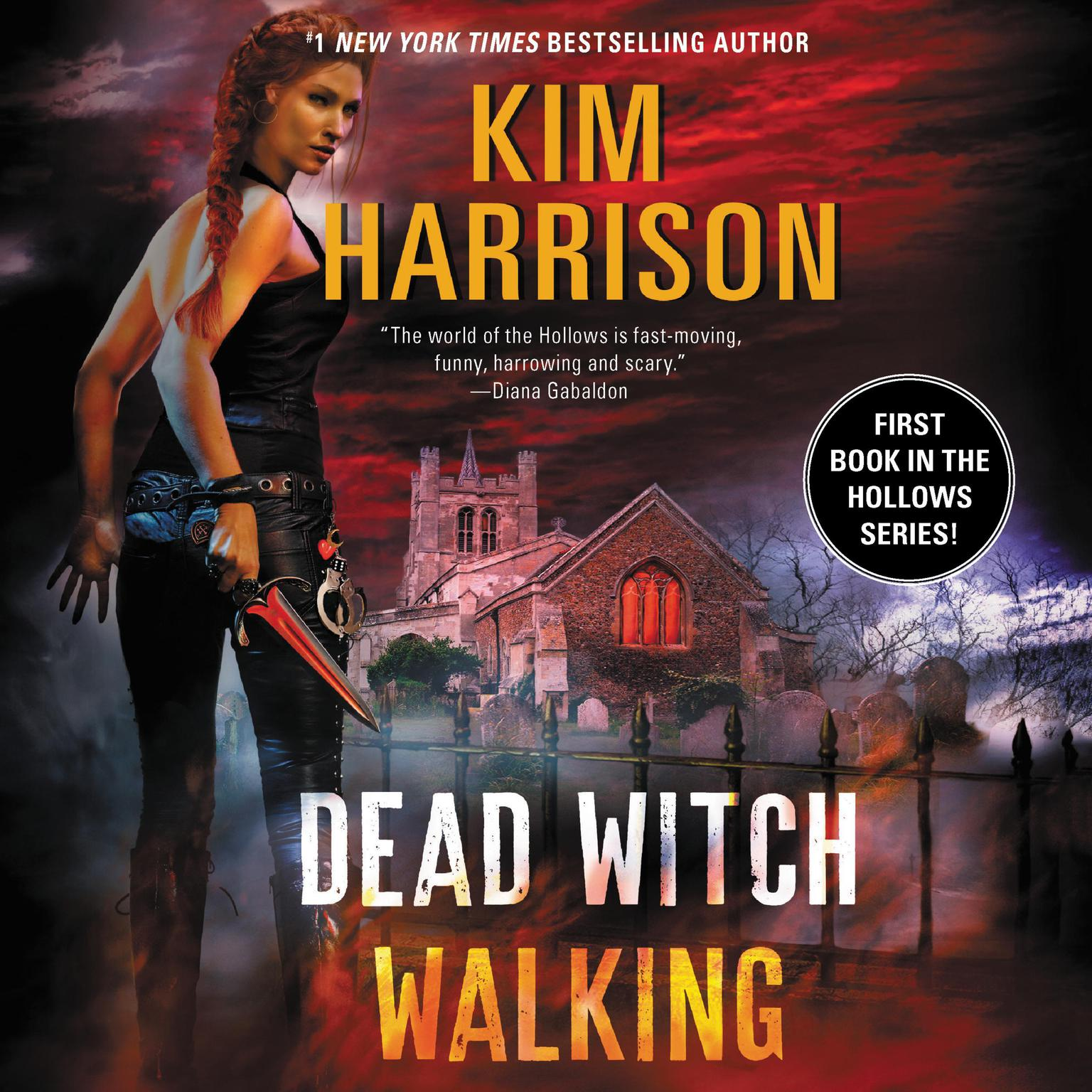 Printable Dead Witch Walking Audiobook Cover Art