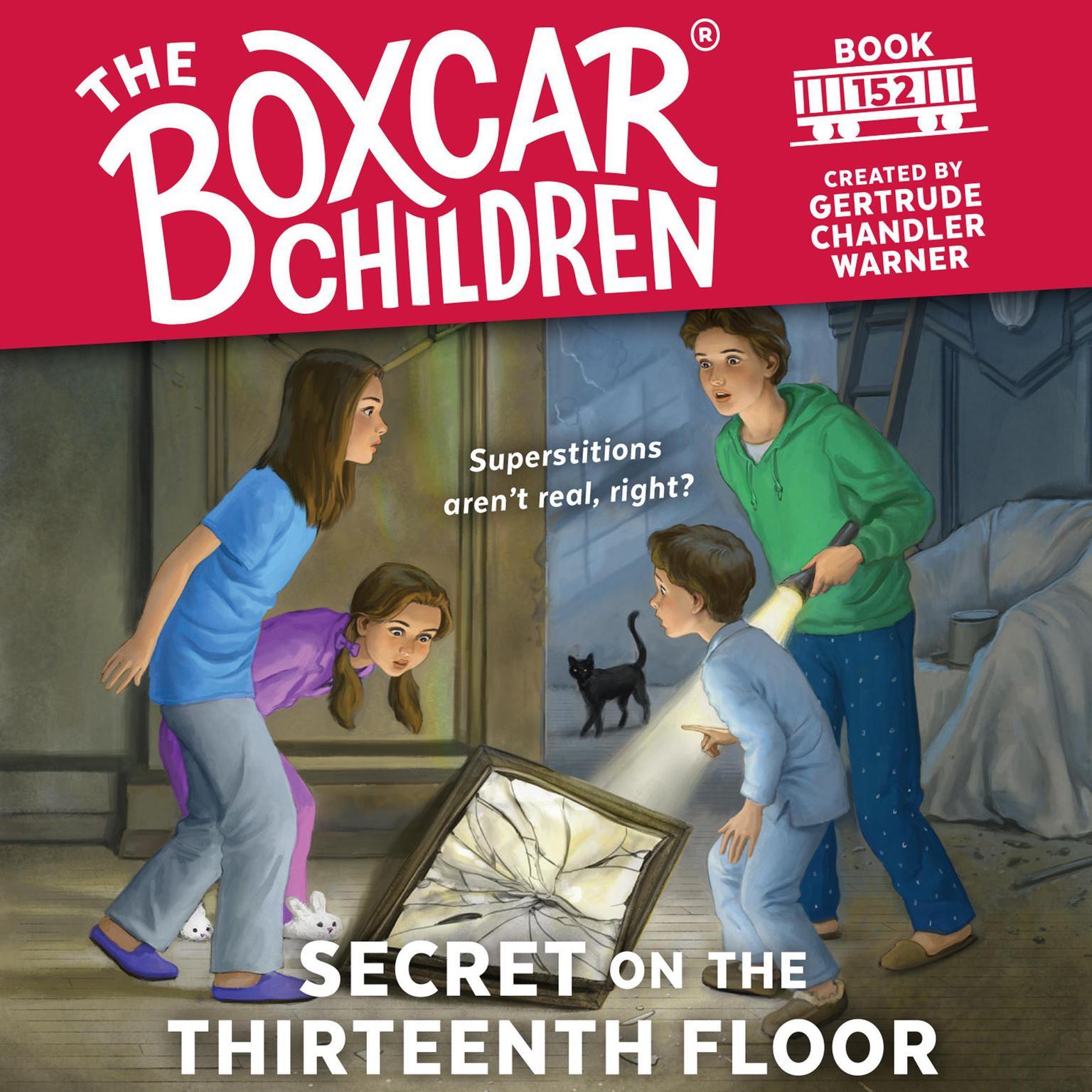 Printable Secret on the Thirteenth Floor Audiobook Cover Art