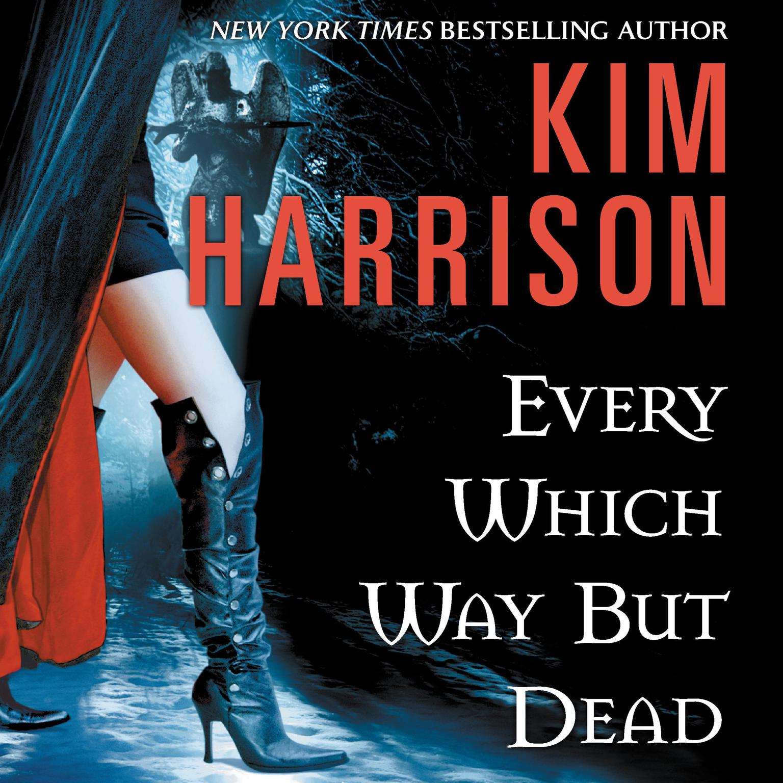 Printable Every Which Way But Dead Audiobook Cover Art