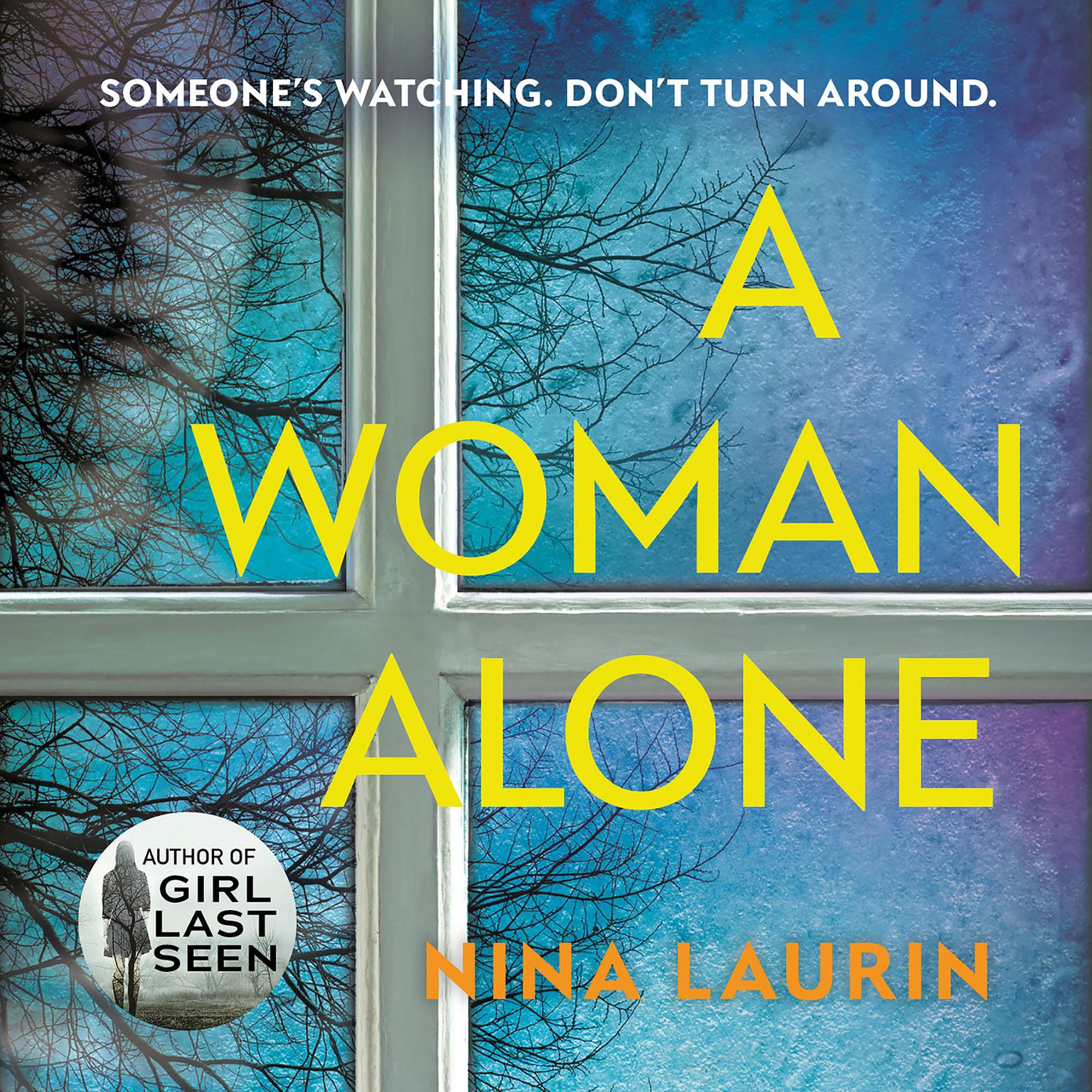 Printable A Woman Alone Audiobook Cover Art