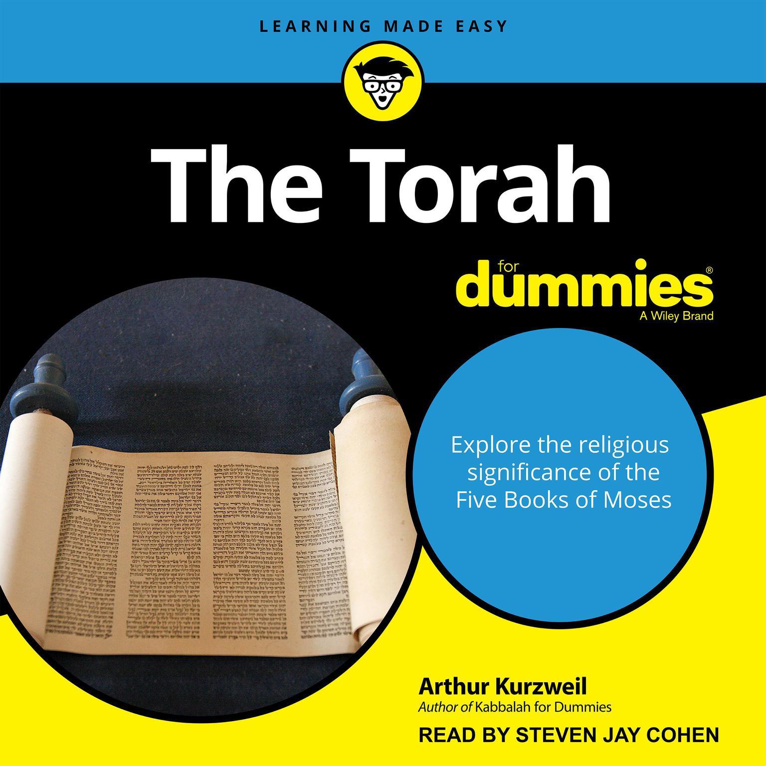 The Torah For Dummies Audiobook, by Arthur Kurzweil