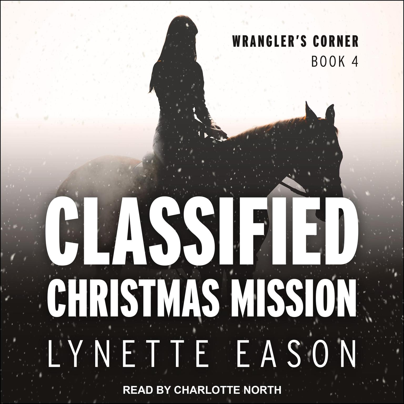 Printable Classified Christmas Mission Audiobook Cover Art
