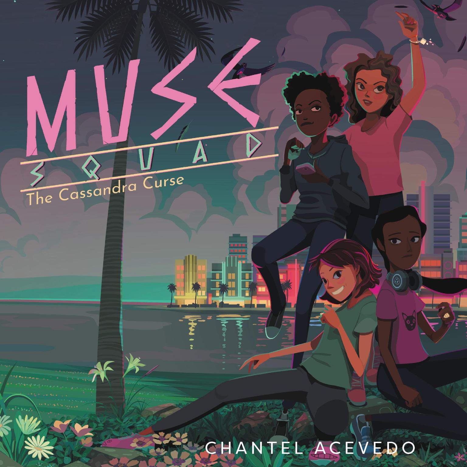 Printable Muse Squad: The Cassandra Curse Audiobook Cover Art