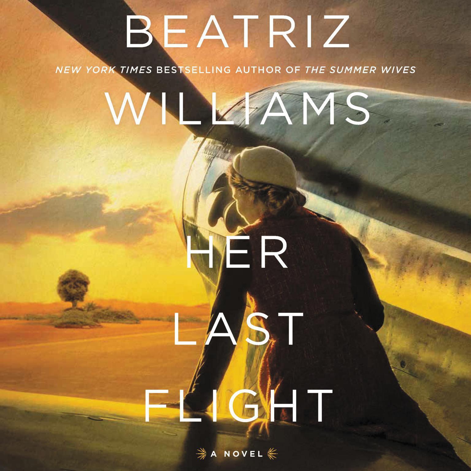 Printable Her Last Flight: A Novel Audiobook Cover Art