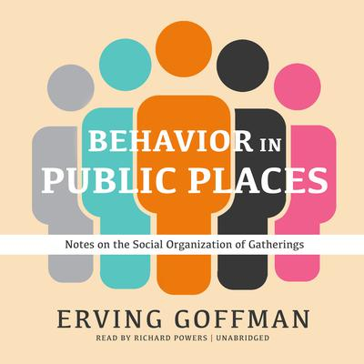 Behavior in Public Places: Notes on the Social Organization of Gatherings Audiobook, by