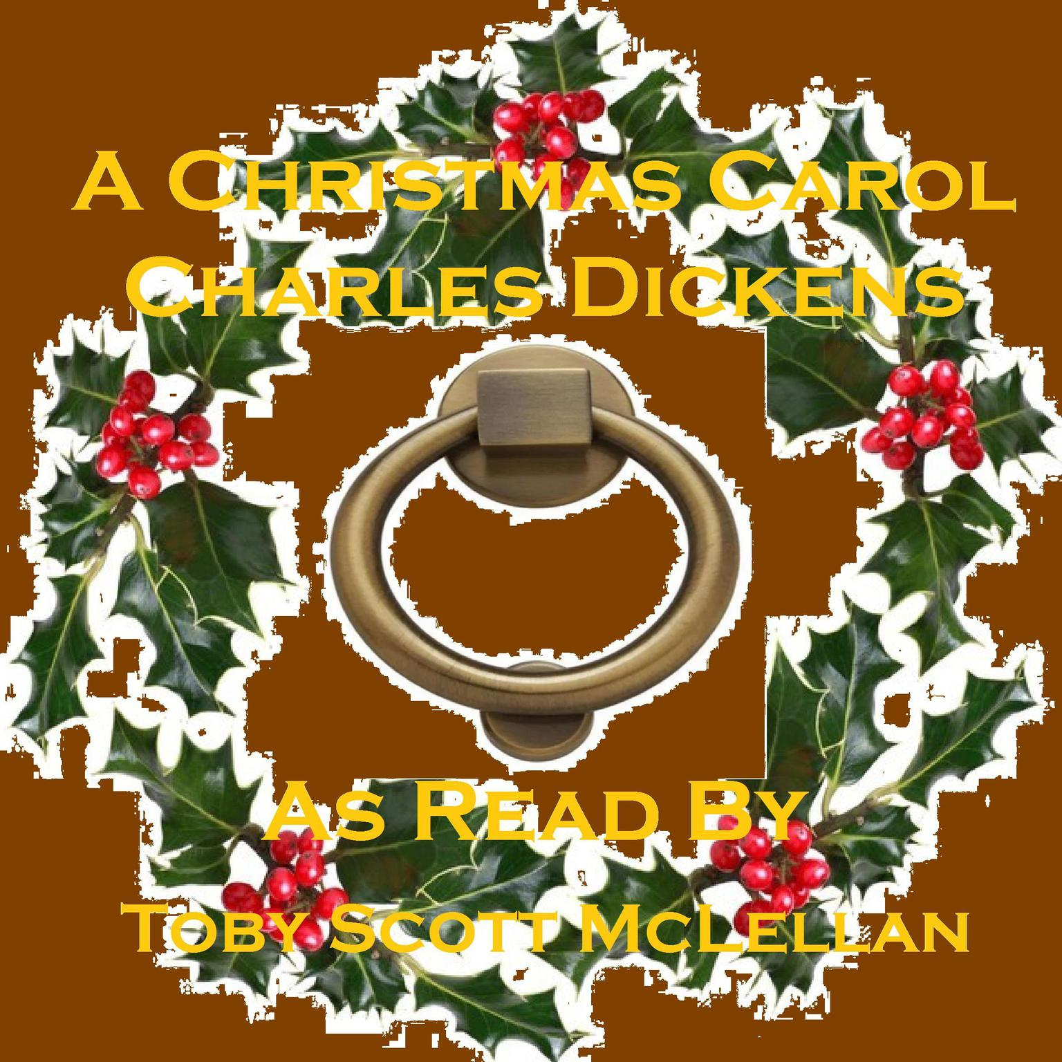 Printable A Christmas Carol Audiobook Cover Art