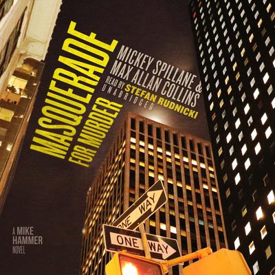 Masquerade for Murder: A Mike Hammer Novel Audiobook, by