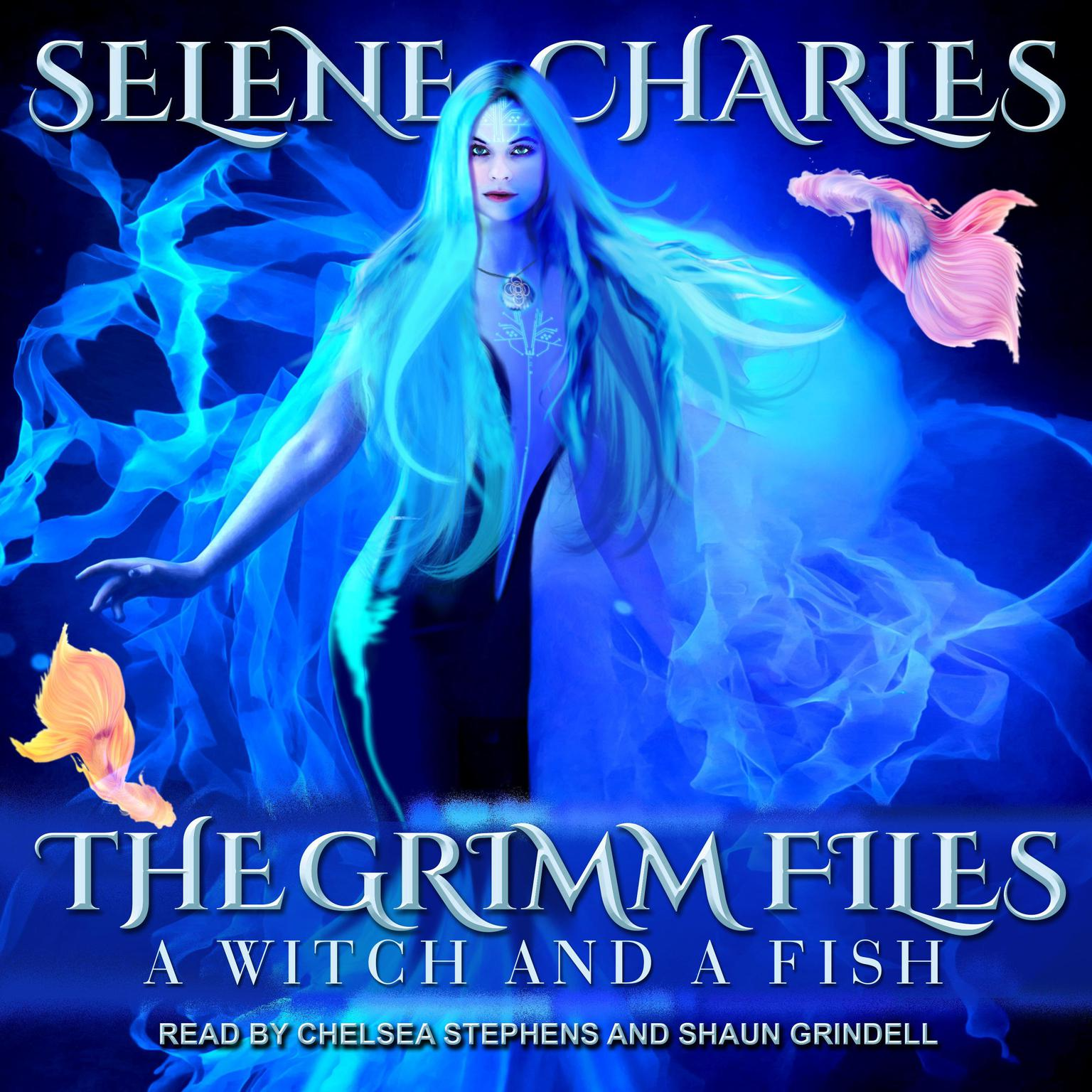 Printable A Witch and a Fish Audiobook Cover Art