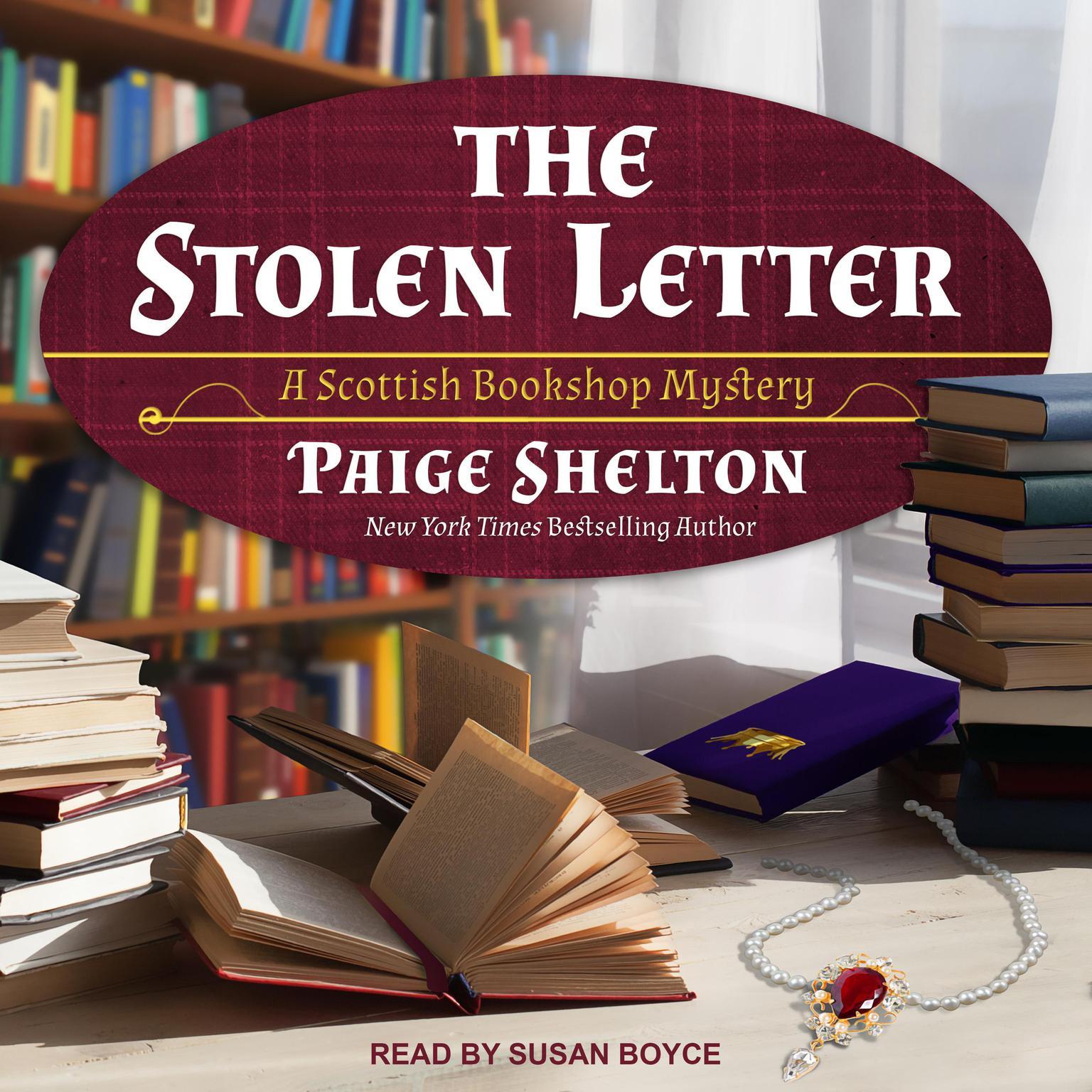 The Stolen Letter Audiobook, by Paige Shelton