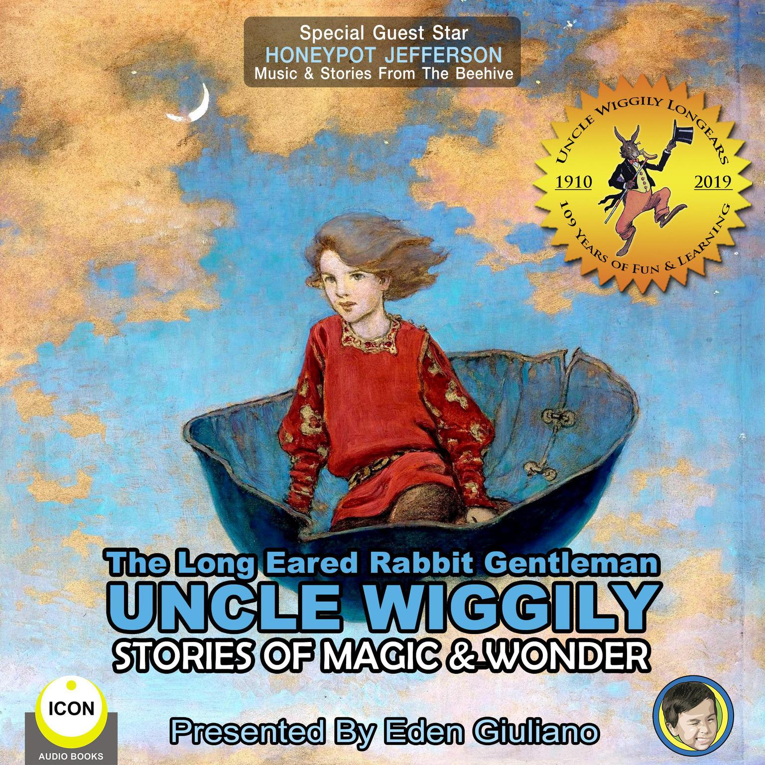 Printable The Long Eared Rabbit Gentleman Uncle Wiggily - Stories Of Magic & Wonder Audiobook Cover Art