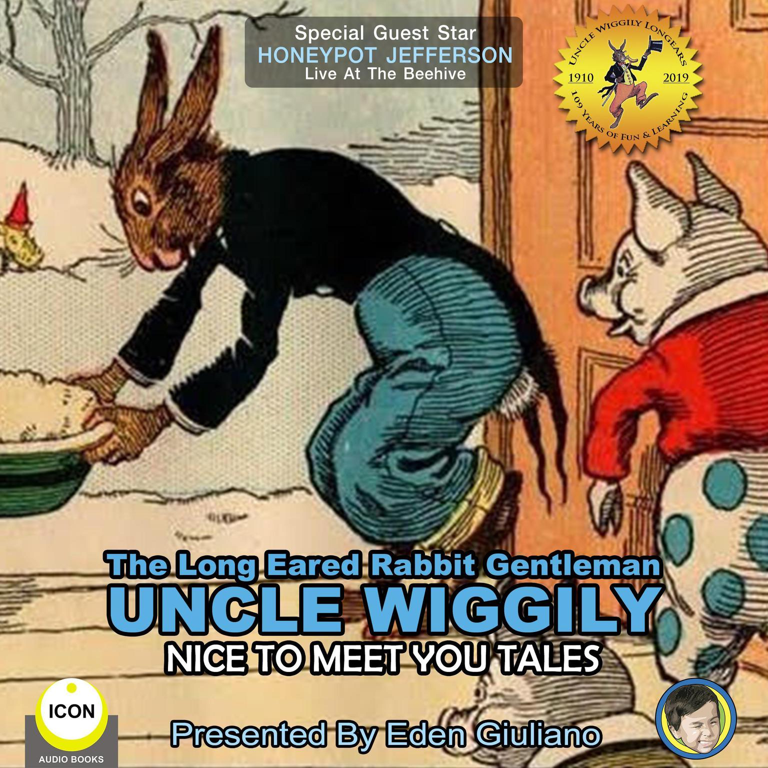 Printable The Long Eared Rabbit Gentleman Uncle Wiggily - Nice To Meet You Tales Audiobook Cover Art