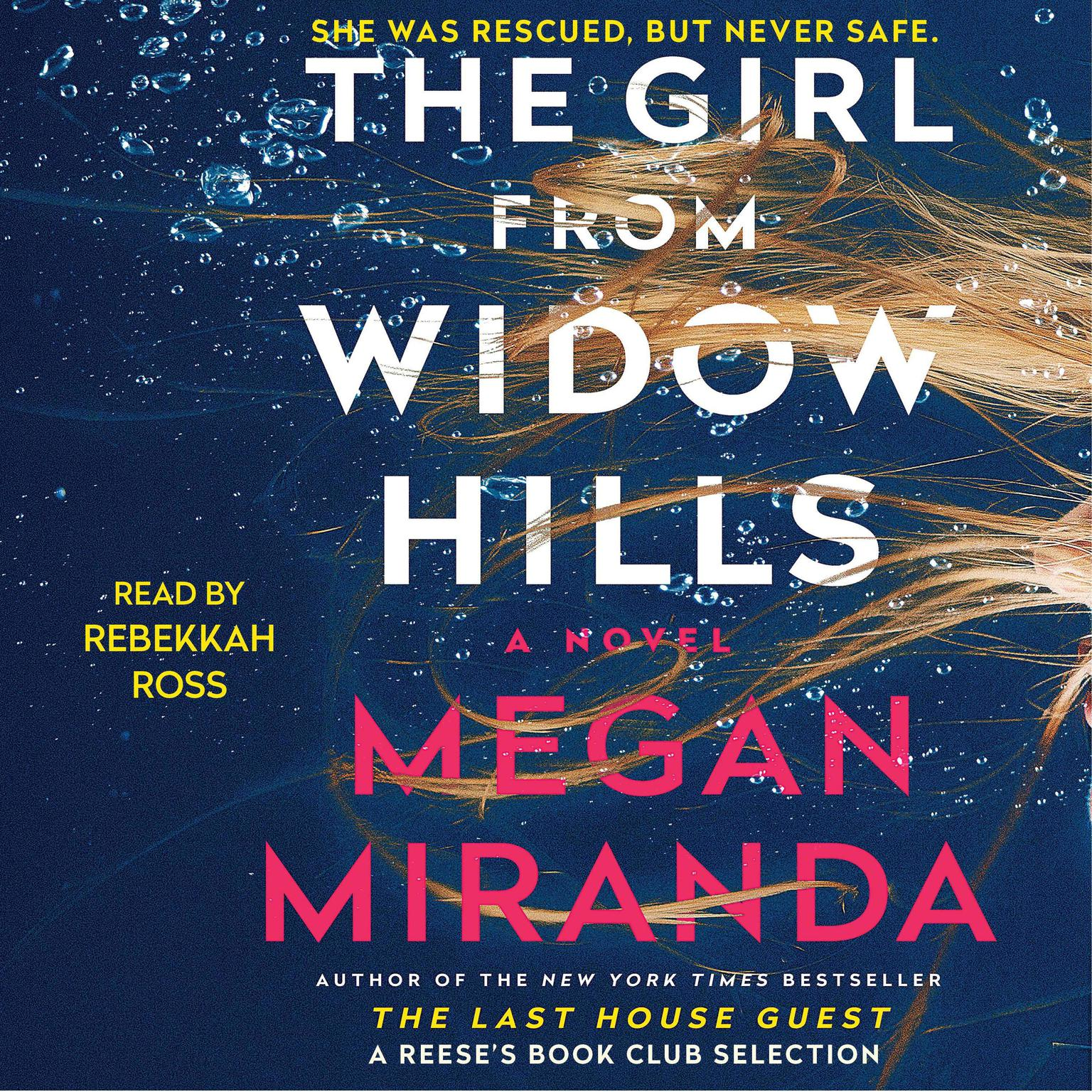 Printable The Girl from Widow Hills Audiobook Cover Art
