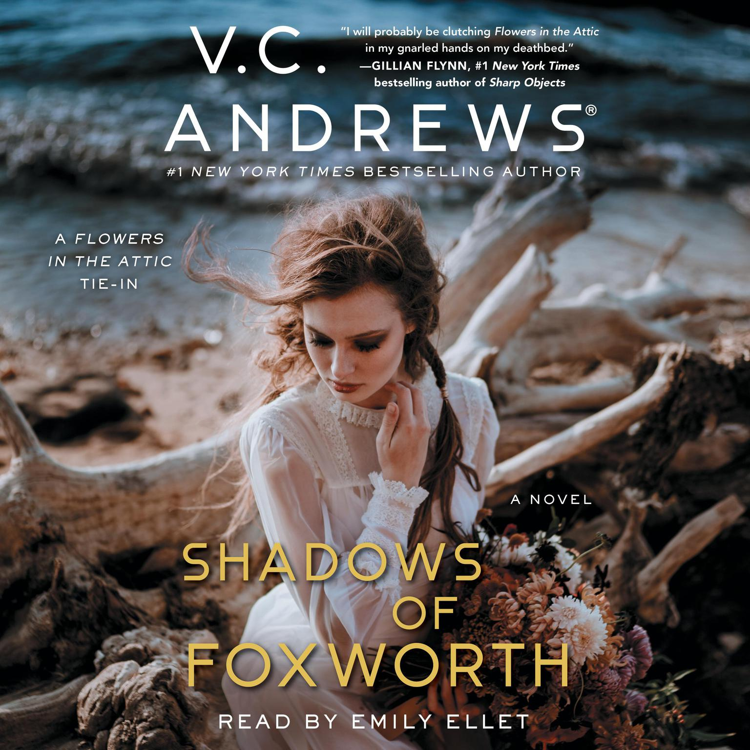 Printable The Shadows of Foxworth Audiobook Cover Art