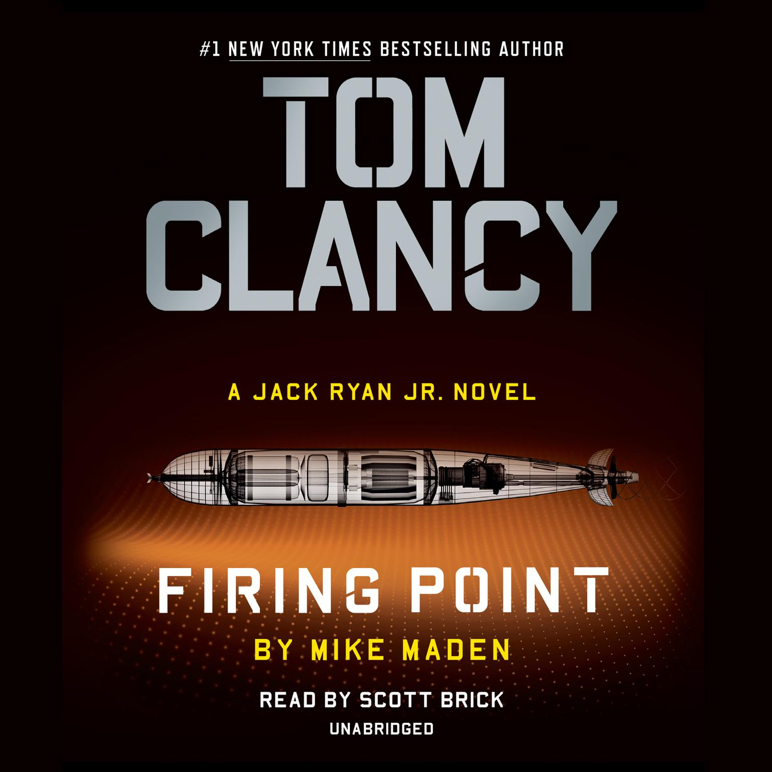 Printable Tom Clancy Firing Point Audiobook Cover Art