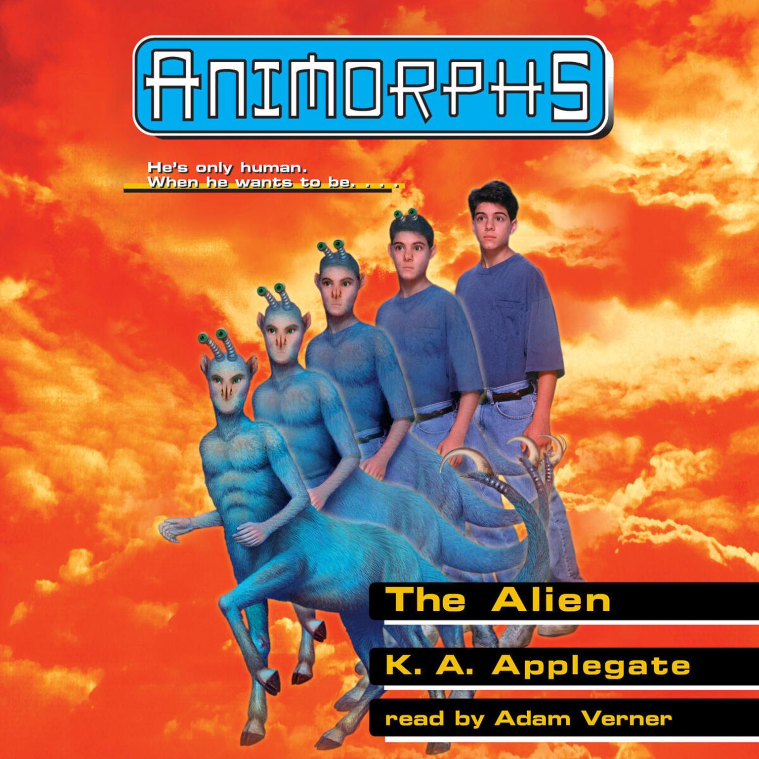 The Alien Audiobook, by Katherine Applegate