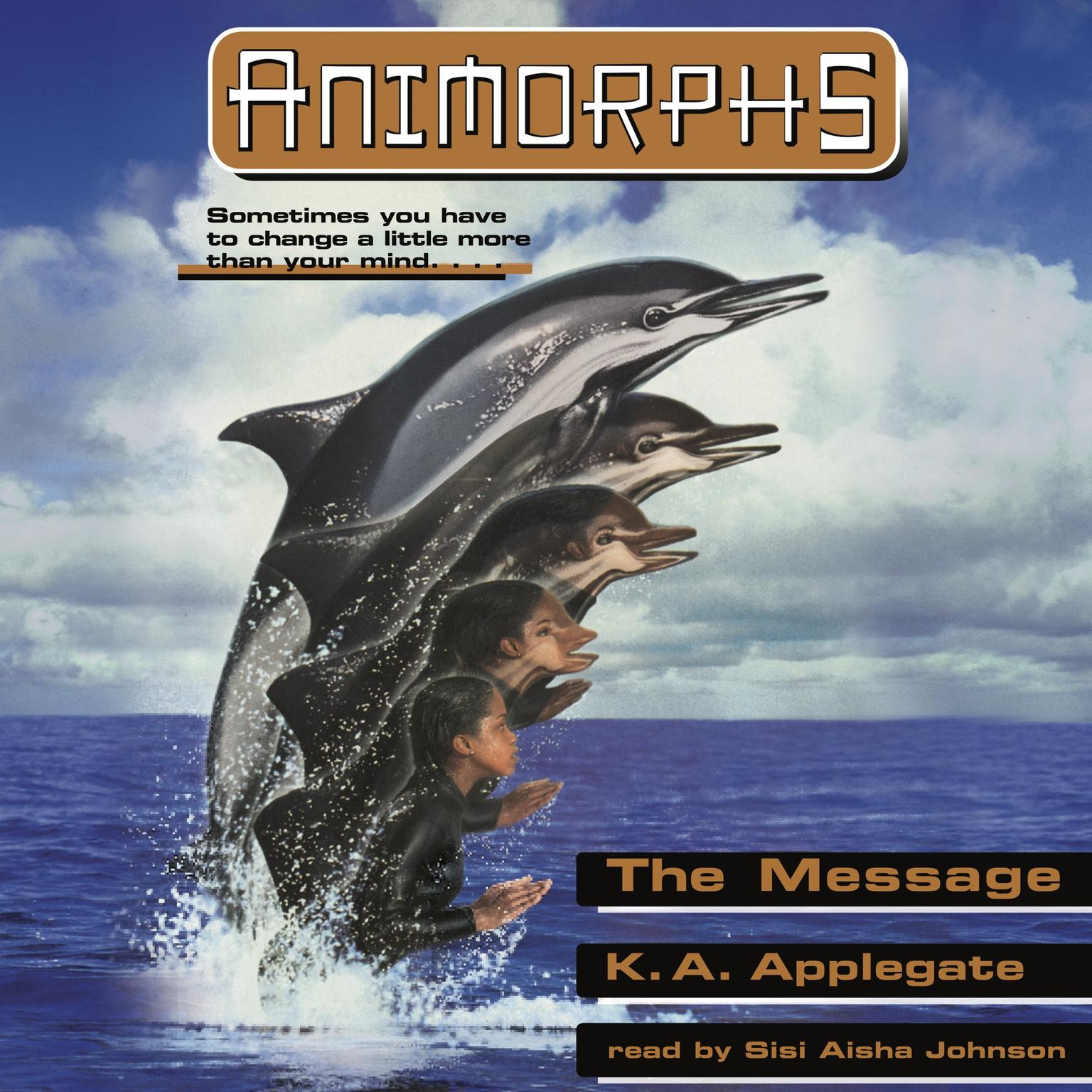 The Message Audiobook, by Katherine Applegate