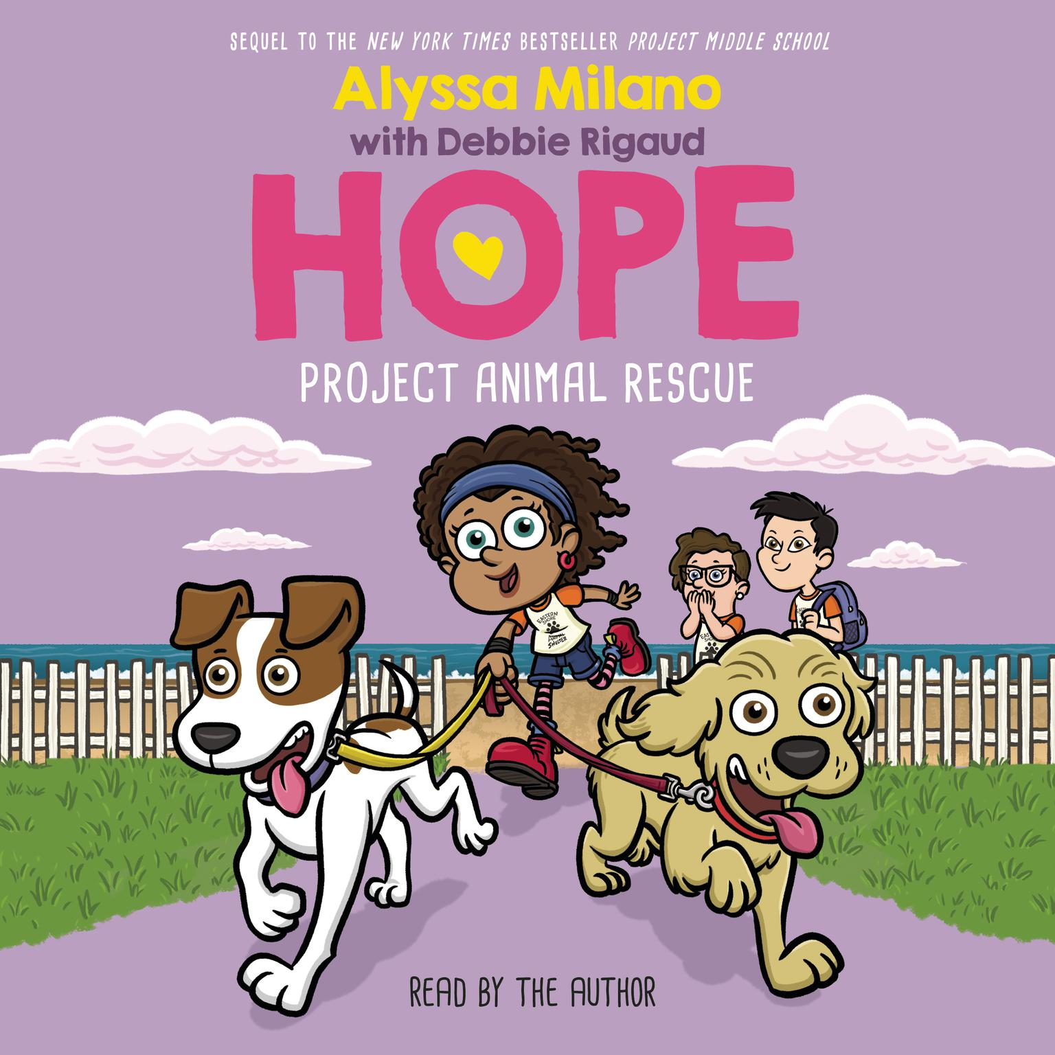 Printable Project Animal Rescue Audiobook Cover Art
