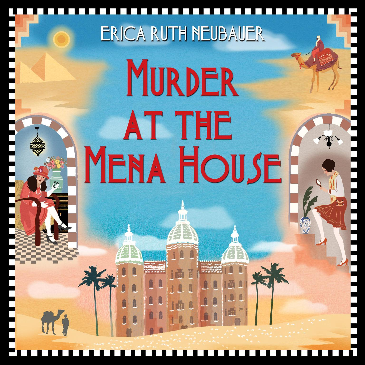 Printable Murder at the Mena House Audiobook Cover Art