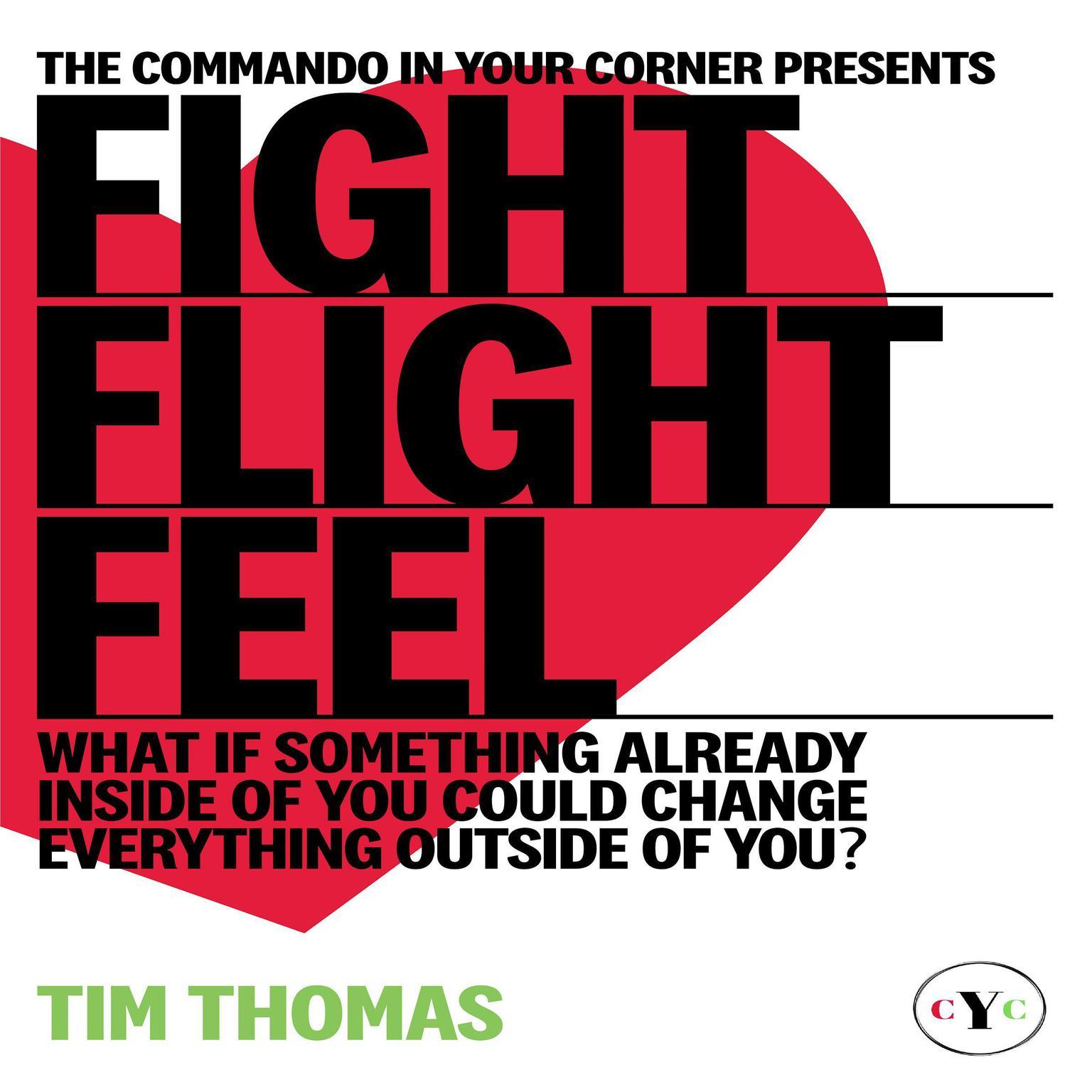Printable Fight, Flight, or Feel Audiobook Cover Art