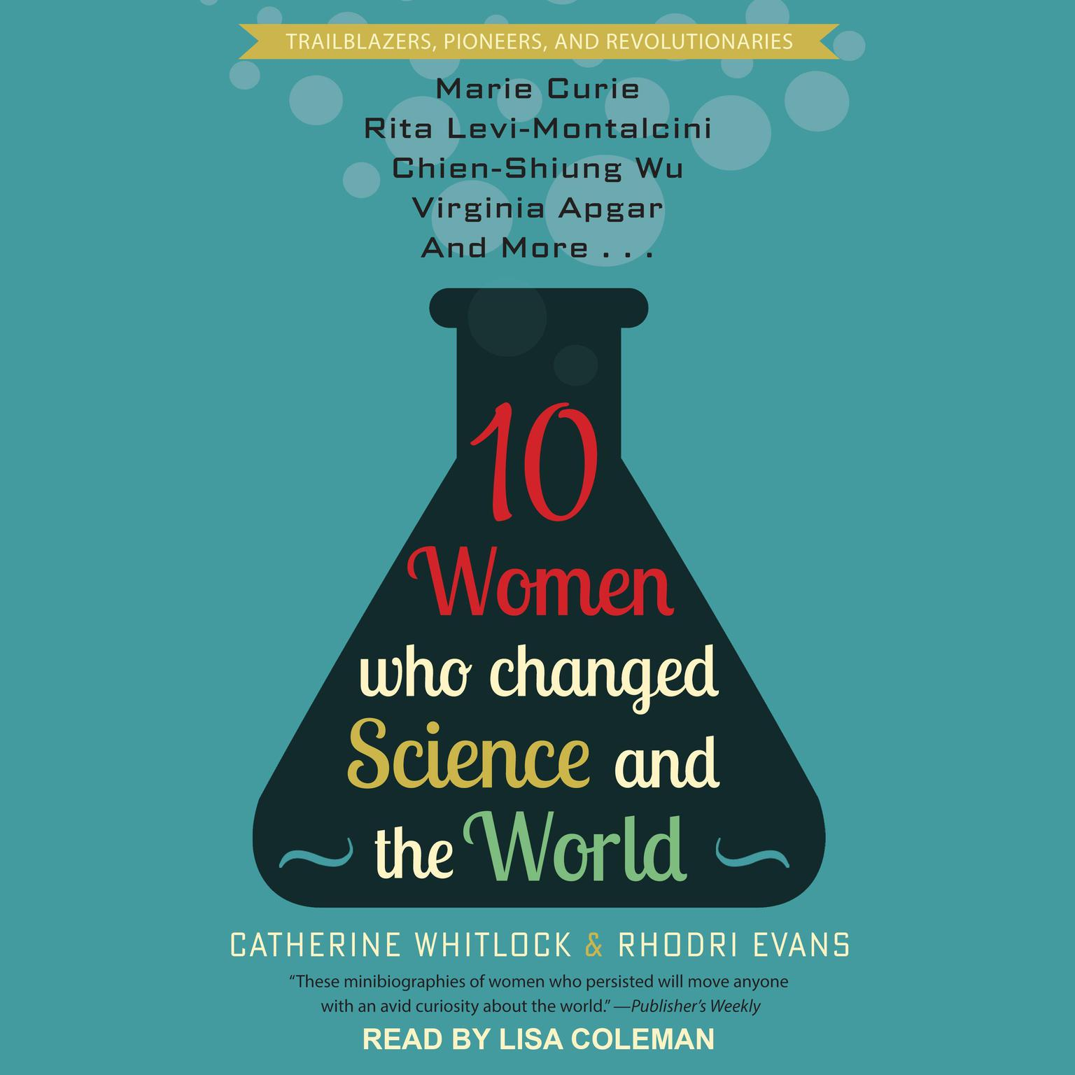 Printable 10 Women Who Changed Science and the World Audiobook Cover Art