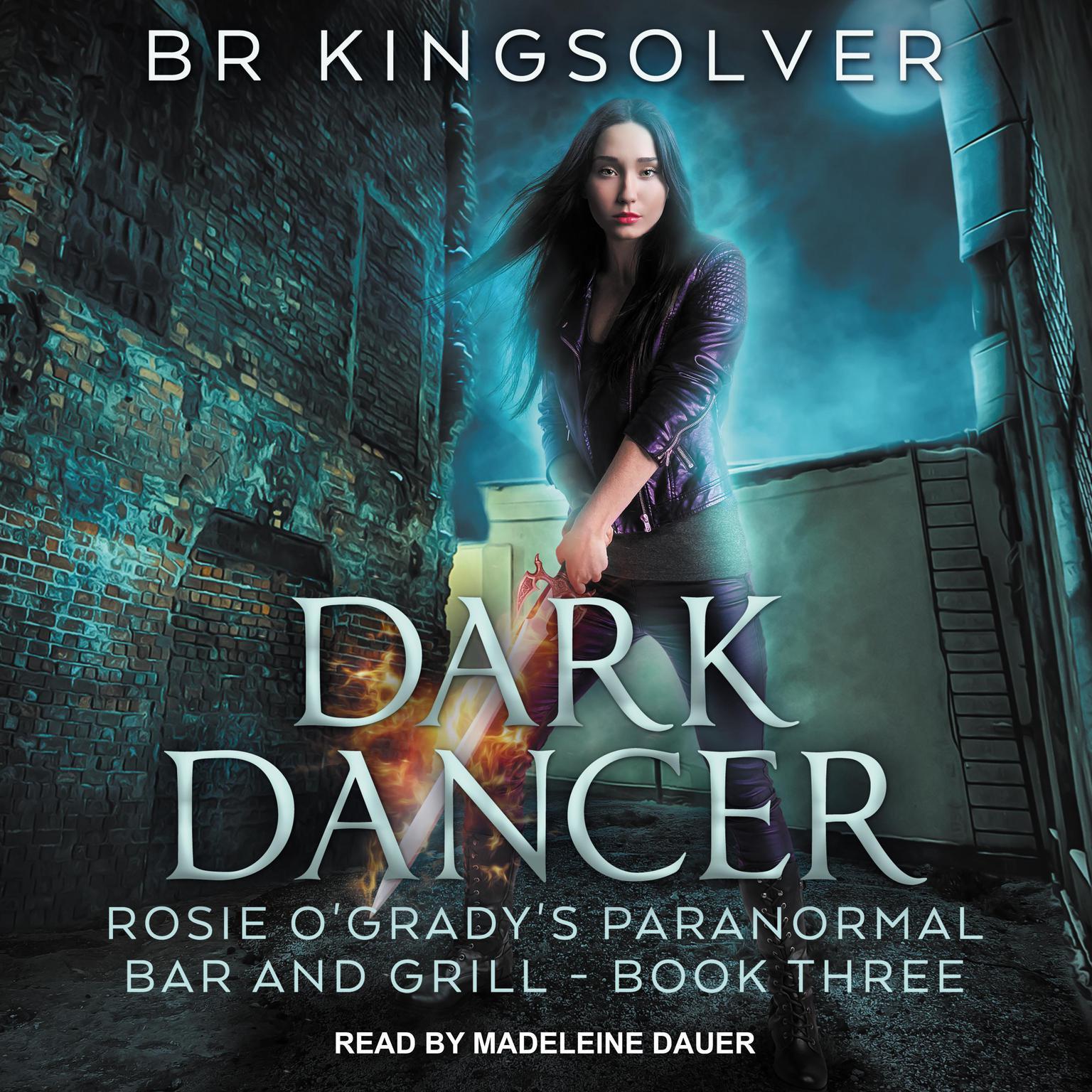 Printable Dark Dancer Audiobook Cover Art