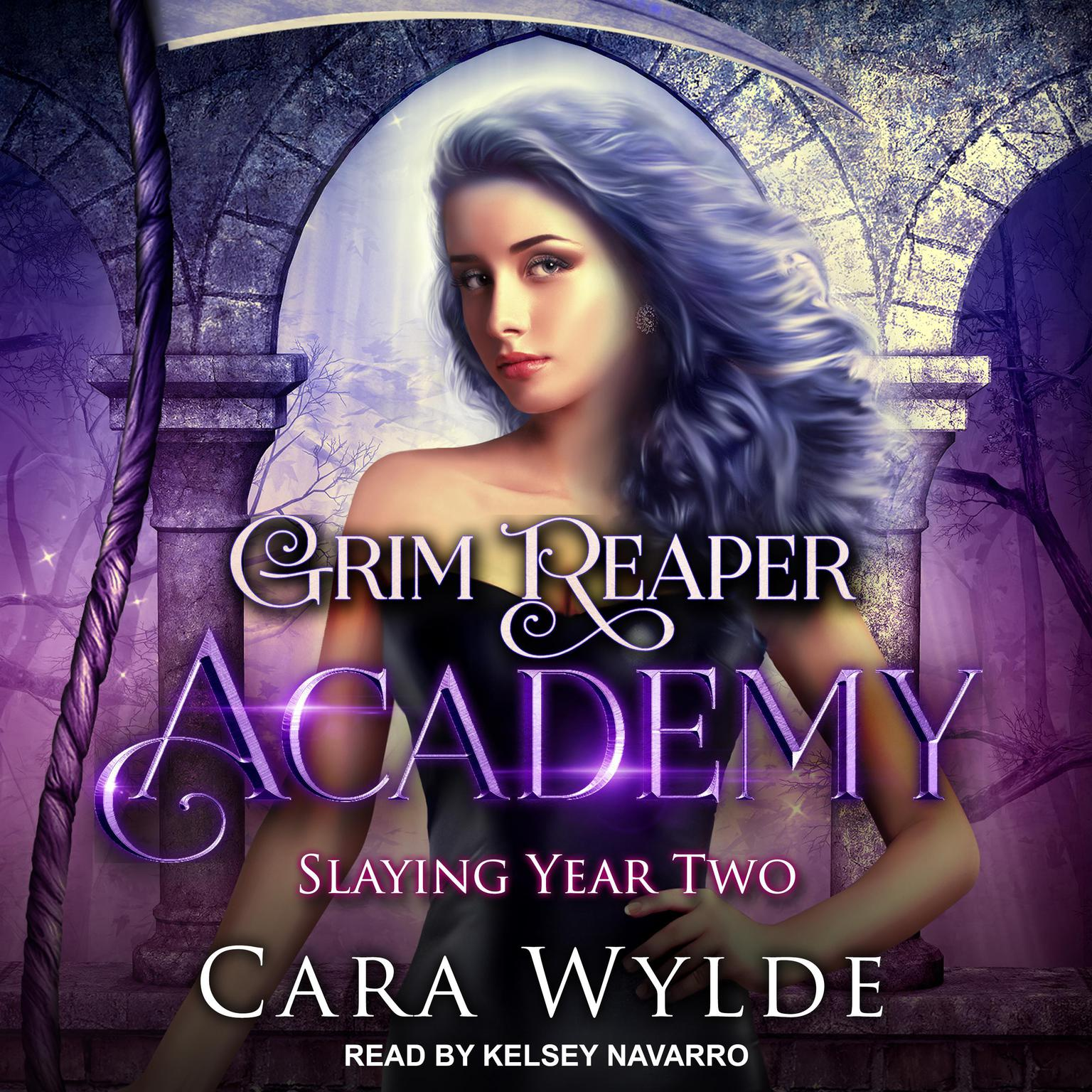 Printable Slaying Year Two Audiobook Cover Art