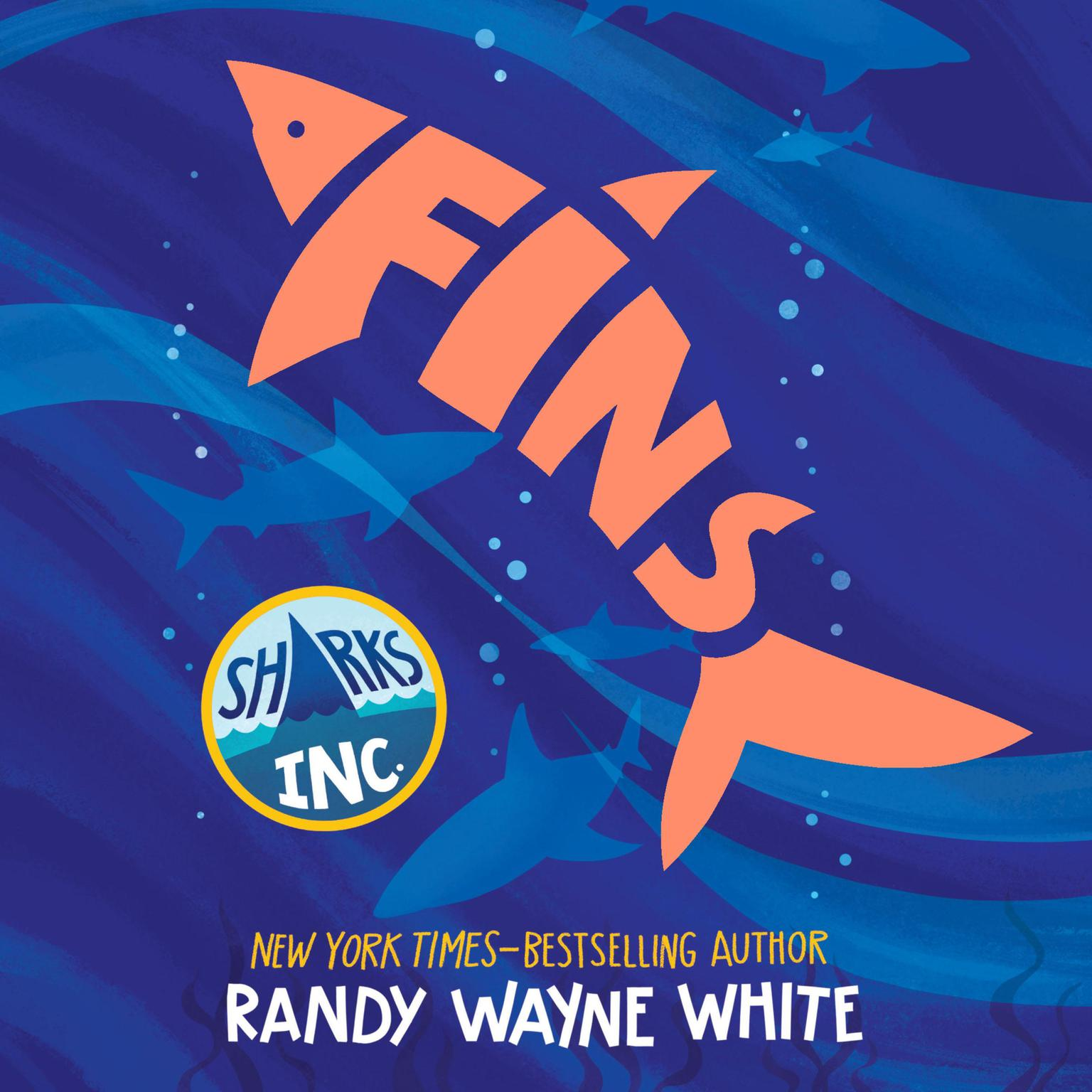 Printable Fins: A Sharks Incorporated Novel Audiobook Cover Art
