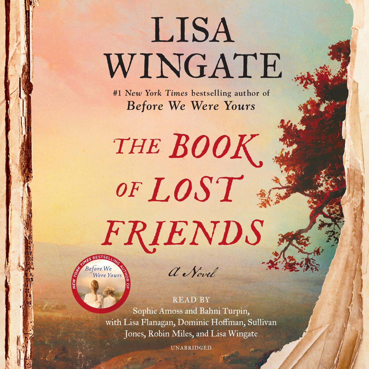 Printable The Book of Lost Friends: A Novel Audiobook Cover Art