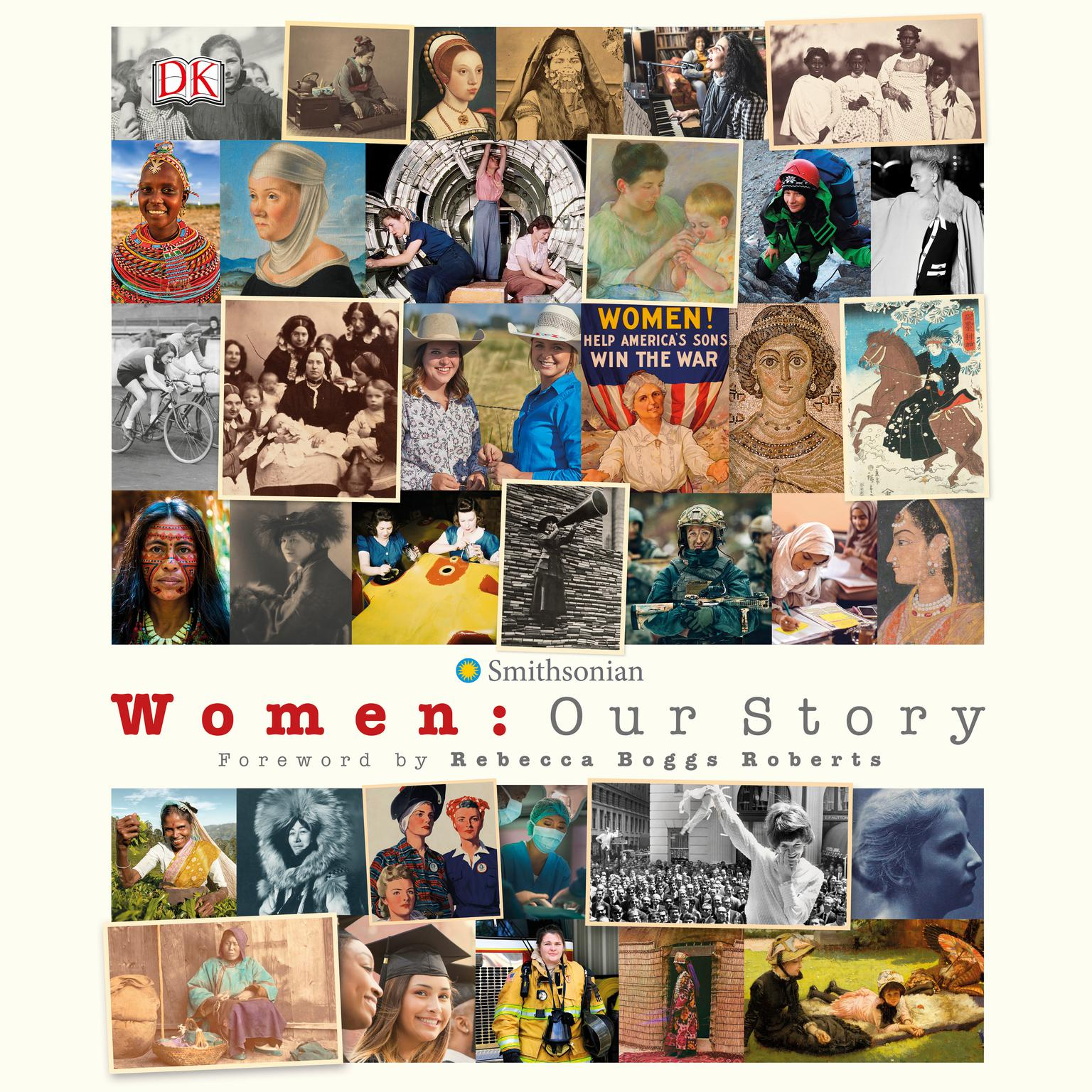 Printable Women: Our History Audiobook Cover Art