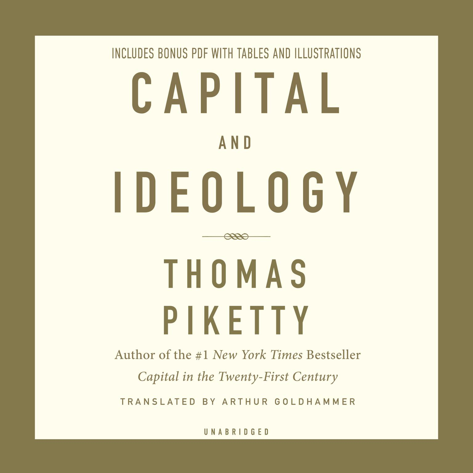 Printable Capital and Ideology Audiobook Cover Art