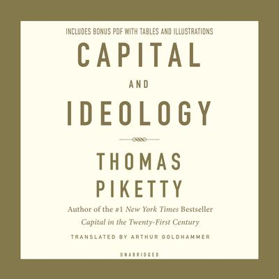 Capital and Ideology Audiobook, by Thomas Piketty