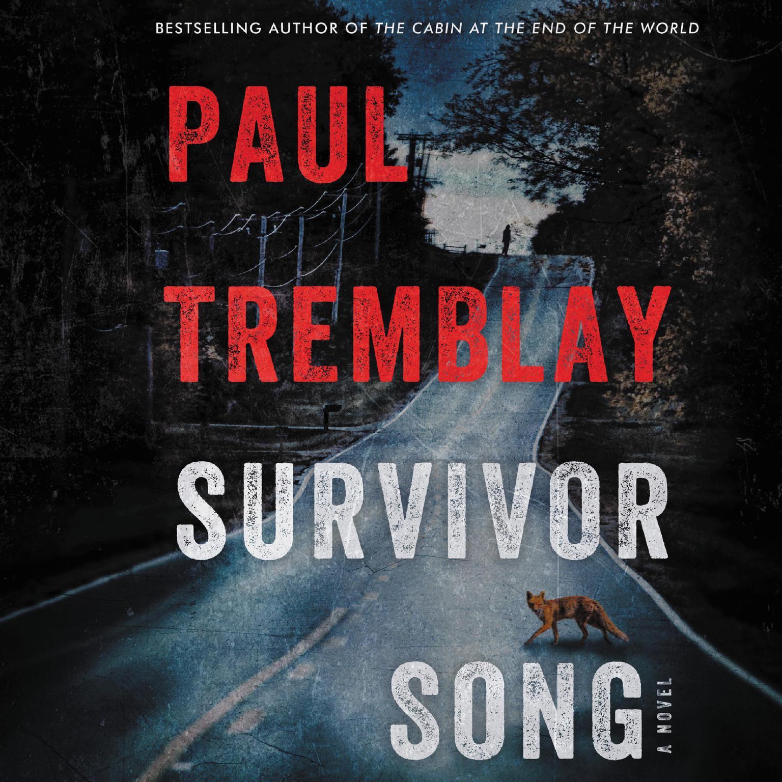 Printable Survivor Song: A Novel Audiobook Cover Art